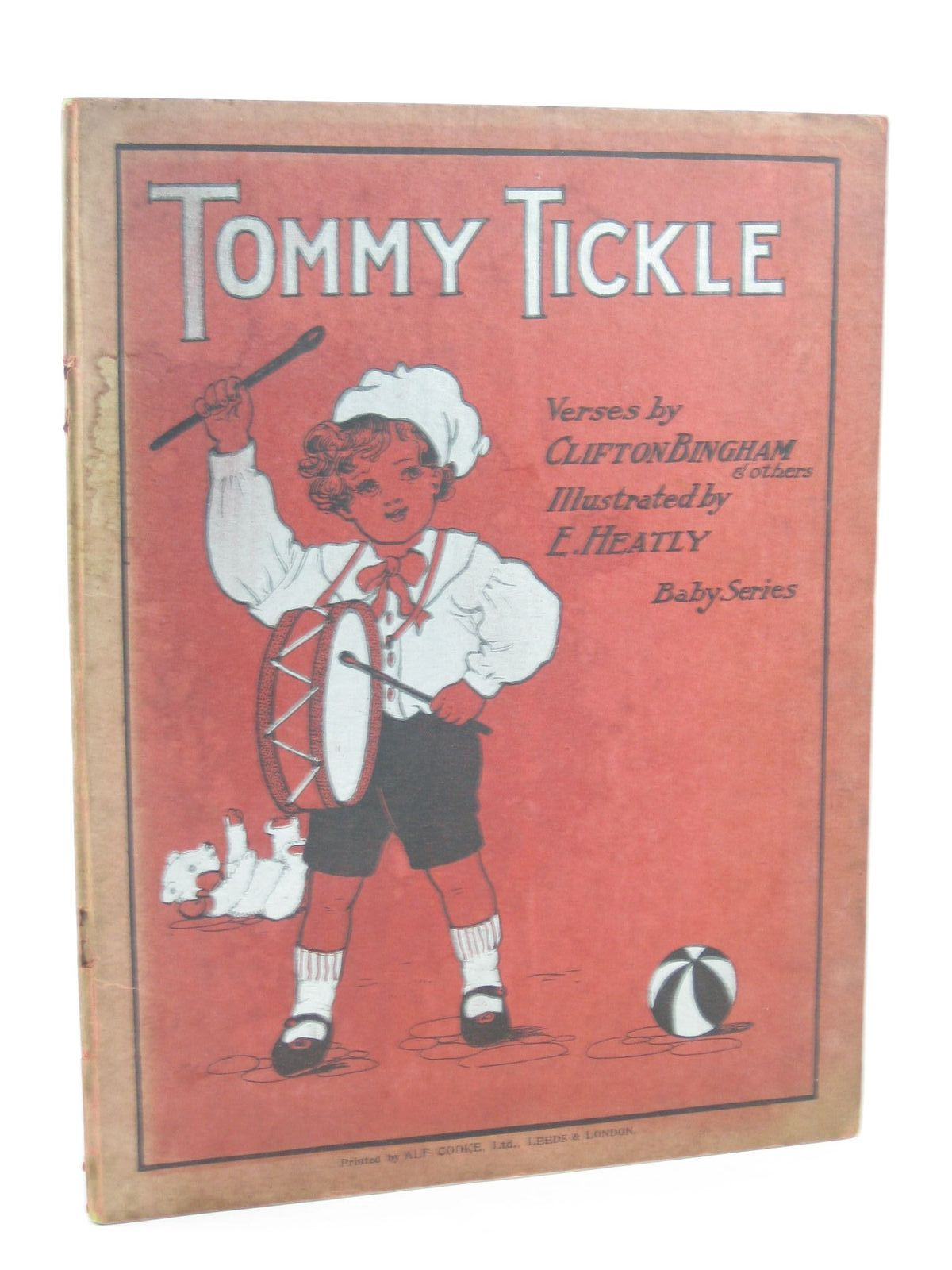 Photo of TOMMY TICKLE written by Bingham, Clifton<br />et al, illustrated by Heatly, E. published by T. Fisher Unwin (STOCK CODE: 1311457)  for sale by Stella & Rose's Books