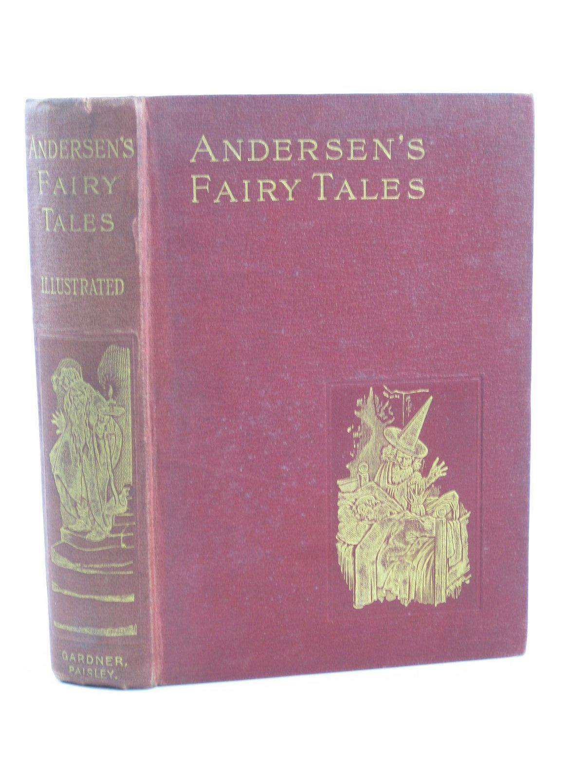 Photo of ANDERSEN'S FAIRY TALES written by Andersen, Hans Christian illustrated by Robinson, W. Heath published by Alexander Gardner (STOCK CODE: 1311465)  for sale by Stella & Rose's Books