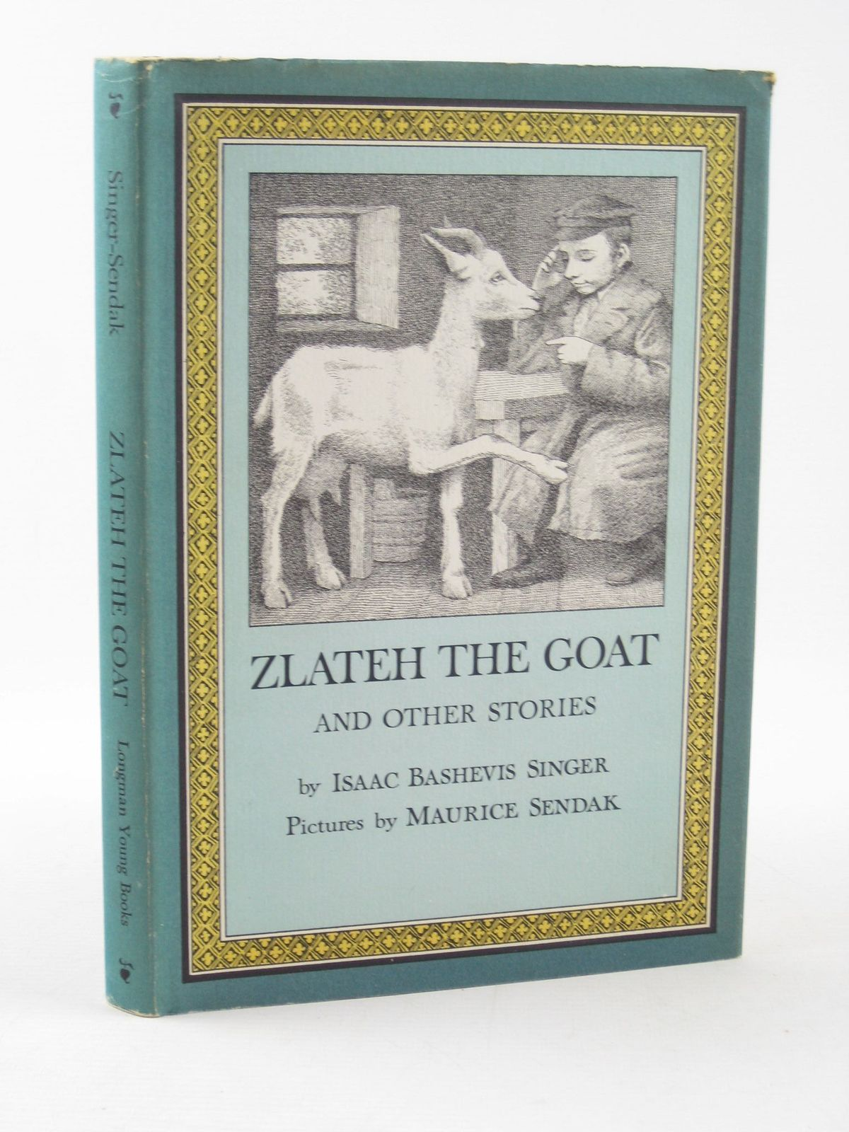Photo of ZLATEH THE GOAT AND OTHER STORIES written by Singer, Isaac Bashevis illustrated by Sendak, Maurice published by Longman Young Books (STOCK CODE: 1311607)  for sale by Stella & Rose's Books