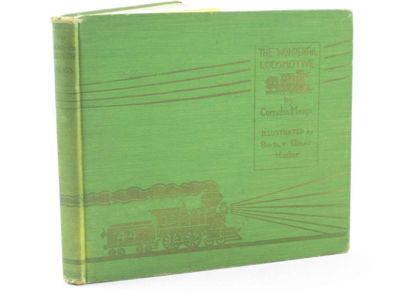 Photo of THE WONDERFUL LOCOMOTIVE written by Meigs, Cornelia illustrated by Hader, Berta<br />Hader, Elmer published by MacMillan (STOCK CODE: 1311680)  for sale by Stella & Rose's Books