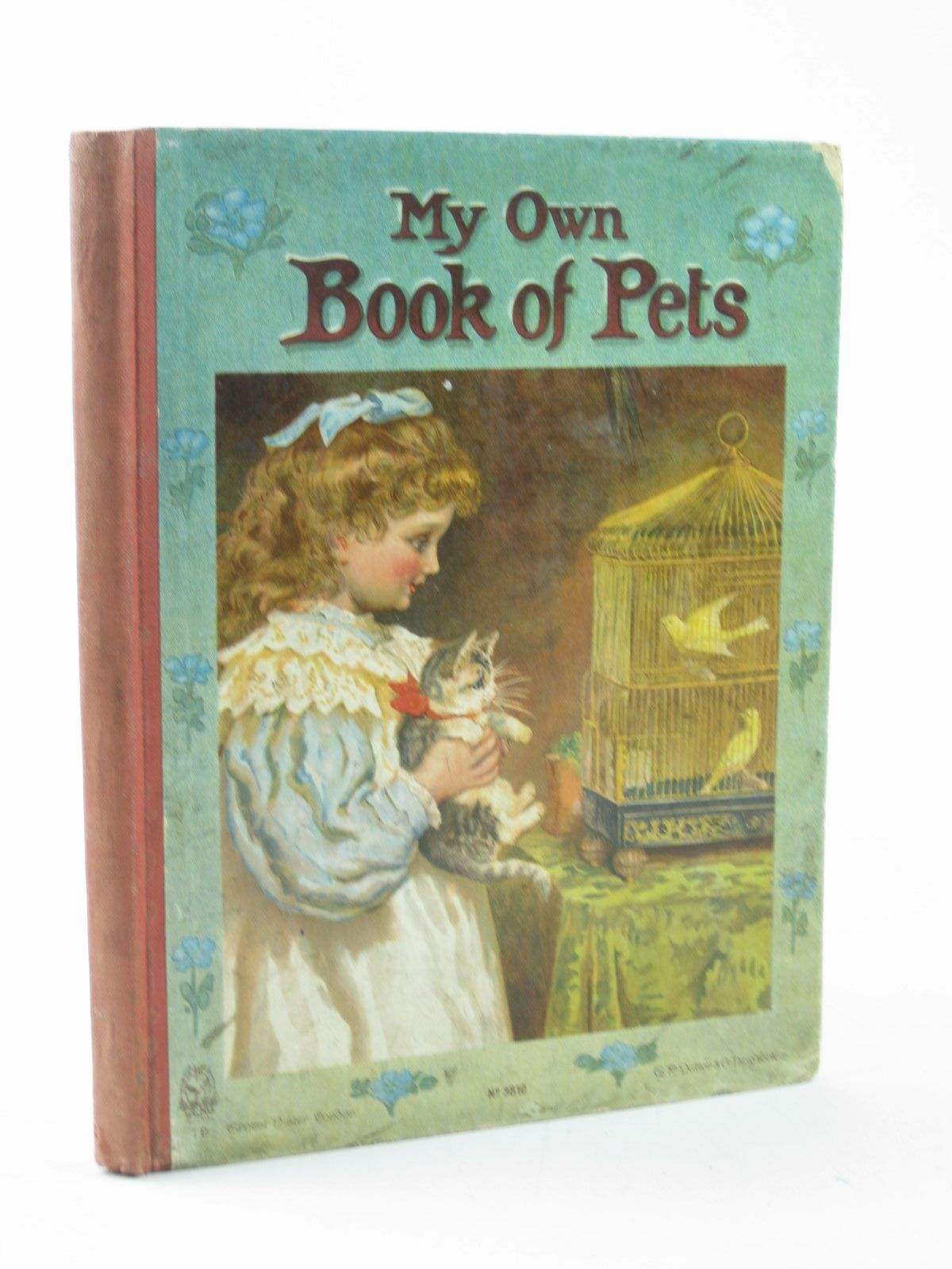 Photo of MY OWN BOOK OF PETS written by Burnside, Helen M.<br />Everett-Green, Evelyn<br />Bingham, Clifton<br />et al, illustrated by Petherick, Rosa C.<br />et al., published by Ernest Nister, E.P. Dutton & Co. (STOCK CODE: 1311776)  for sale by Stella & Rose's Books