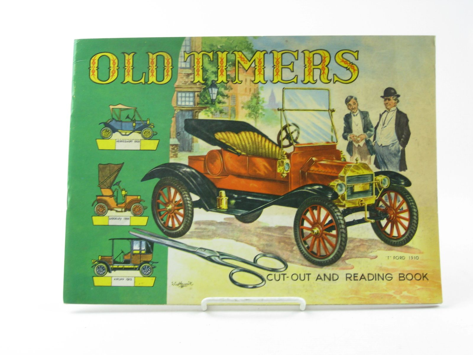 Photo of OLD TIMERS CUT-OUT AND READING BOOK published by W.F. Graham (Northampton) Ltd. (STOCK CODE: 1311792)  for sale by Stella & Rose's Books