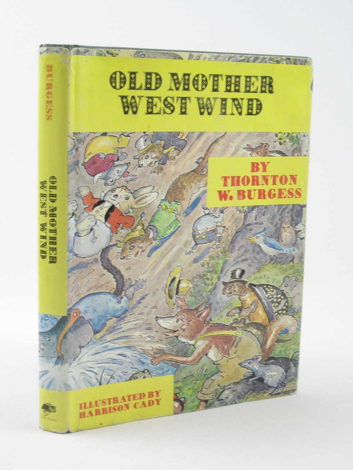 Photo of OLD MOTHER WEST WIND written by Burgess, Thornton W. illustrated by Cady, Harrison published by Tom Stacey (STOCK CODE: 1311812)  for sale by Stella & Rose's Books
