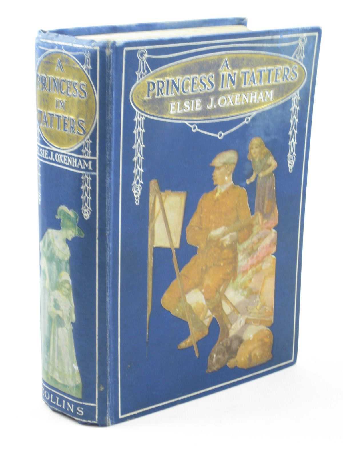 Photo of A PRINCESS IN TATTERS written by Oxenham, Elsie J. illustrated by Adams, Frank published by Collins Clear-Type Press (STOCK CODE: 1311858)  for sale by Stella & Rose's Books