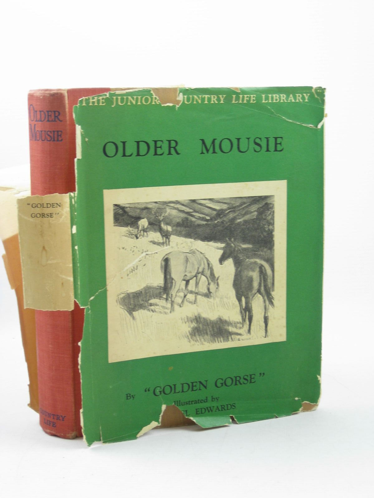 Photo of OLDER MOUSIE written by Golden Gorse,  illustrated by Edwards, Lionel published by Country Life Ltd. (STOCK CODE: 1311868)  for sale by Stella & Rose's Books