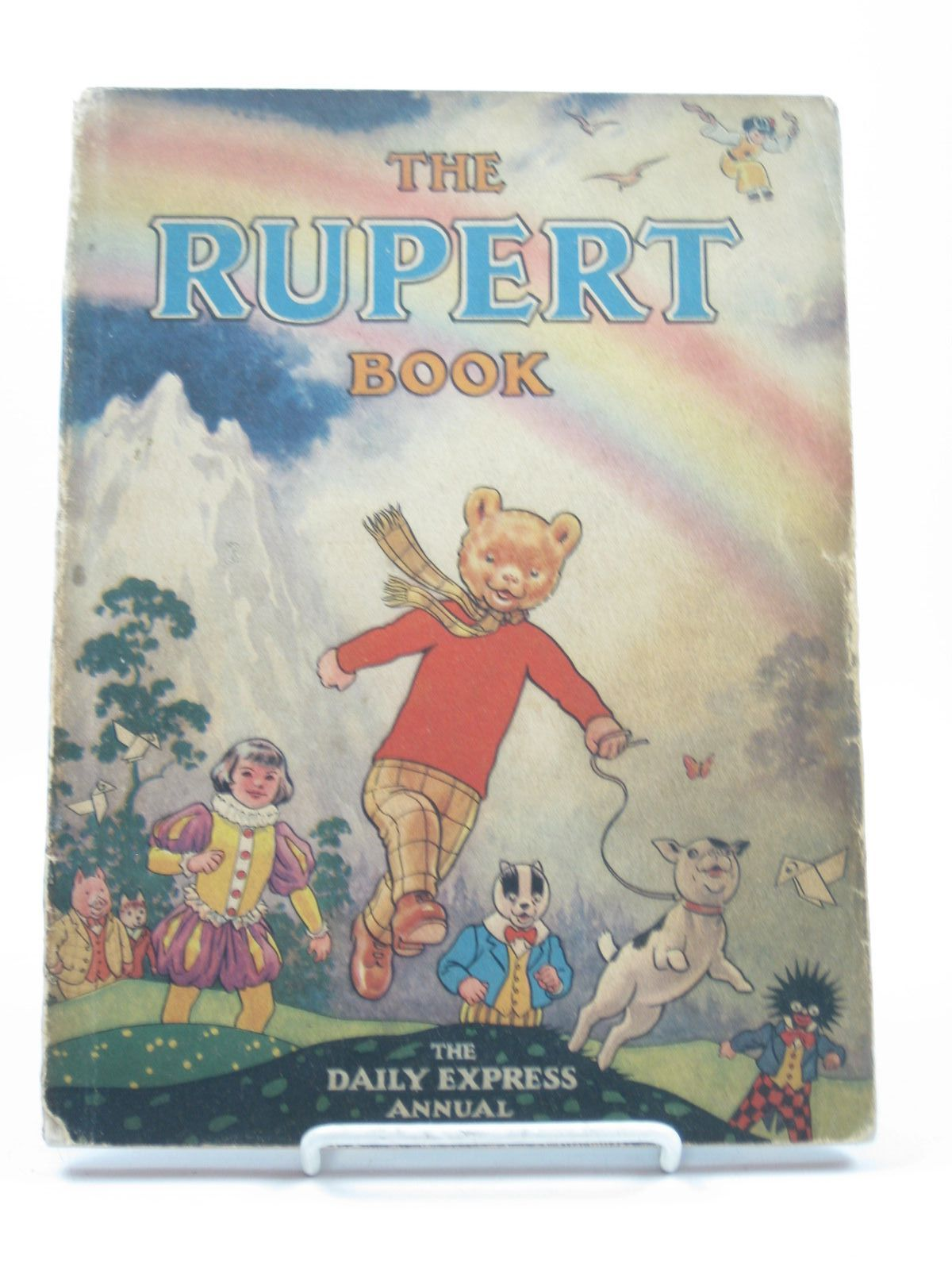 Photo of RUPERT ANNUAL 1948 - THE RUPERT BOOK written by Bestall, Alfred illustrated by Bestall, Alfred published by Daily Express (STOCK CODE: 1311912)  for sale by Stella & Rose's Books