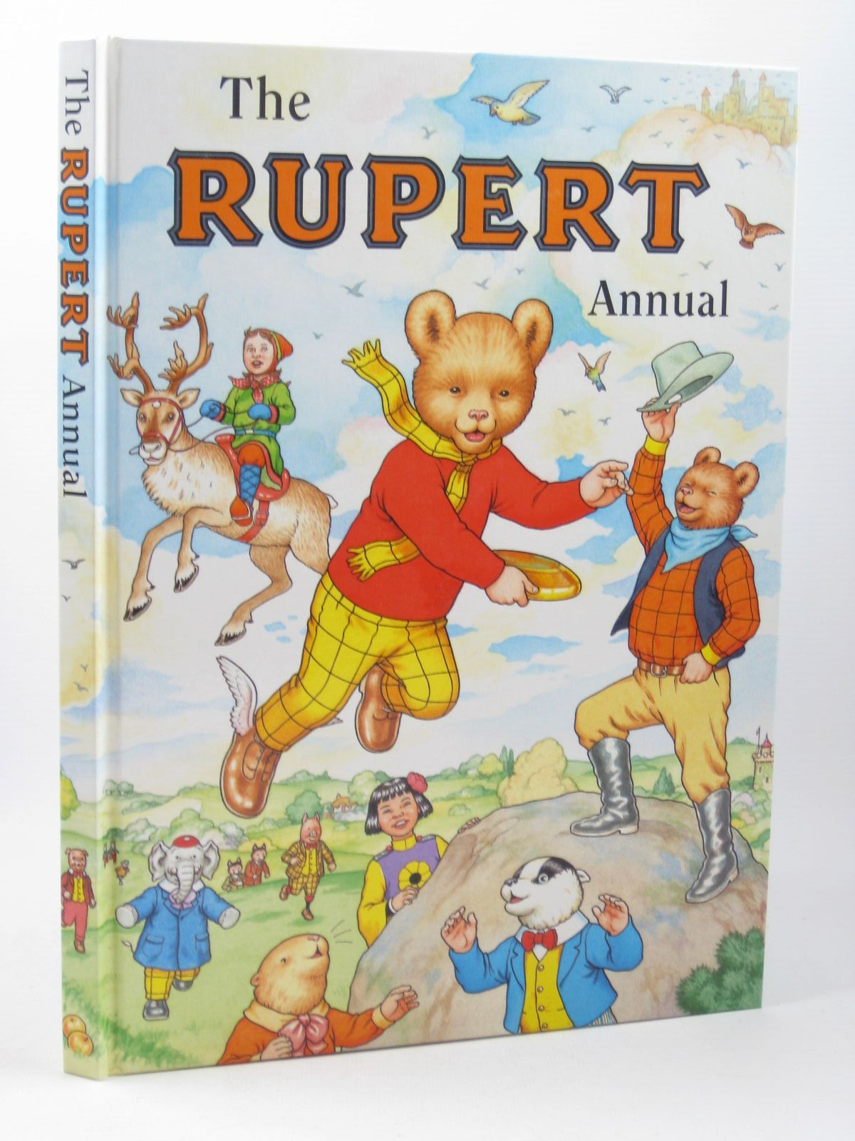 Photo of RUPERT ANNUAL 1999 written by Robinson, Ian illustrated by Harrold, John<br />Hart, Gina published by Pedigree Books Limited (STOCK CODE: 1311918)  for sale by Stella & Rose's Books