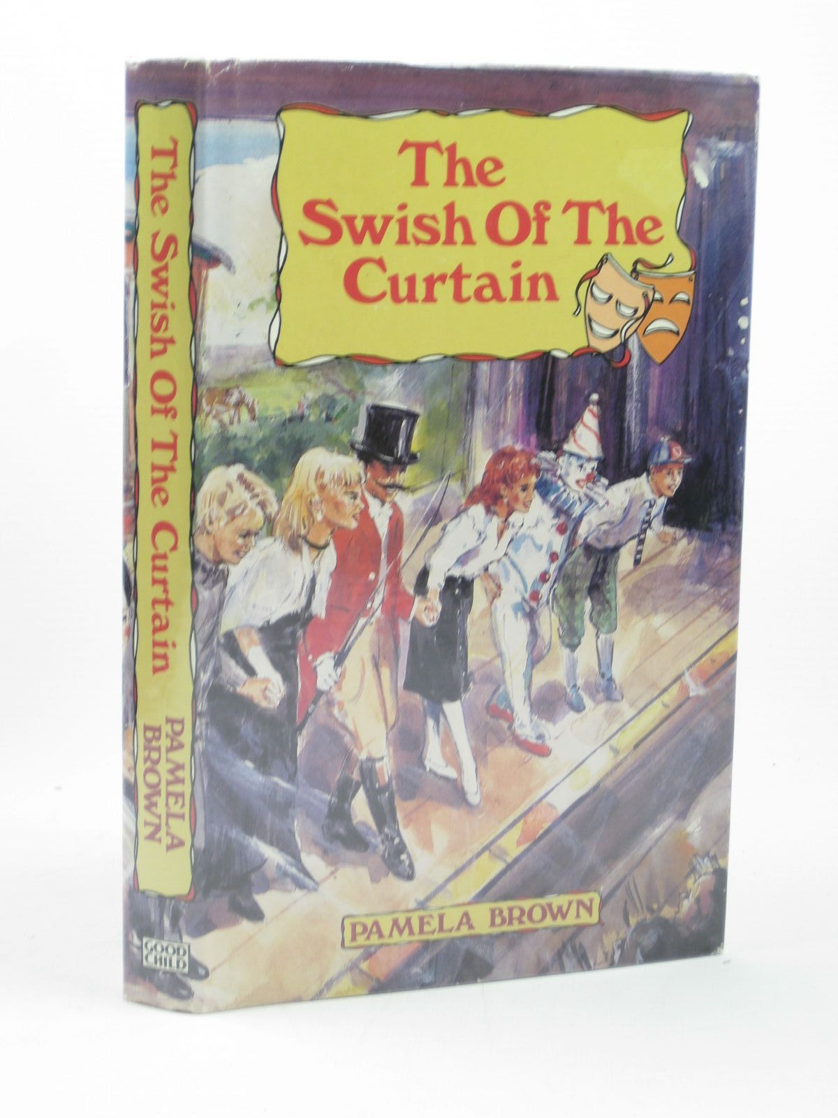 Curtain behind the curtain book - Photo Of The Swish Of The Curtain Written By Brown Pamela Published By John Goodchild