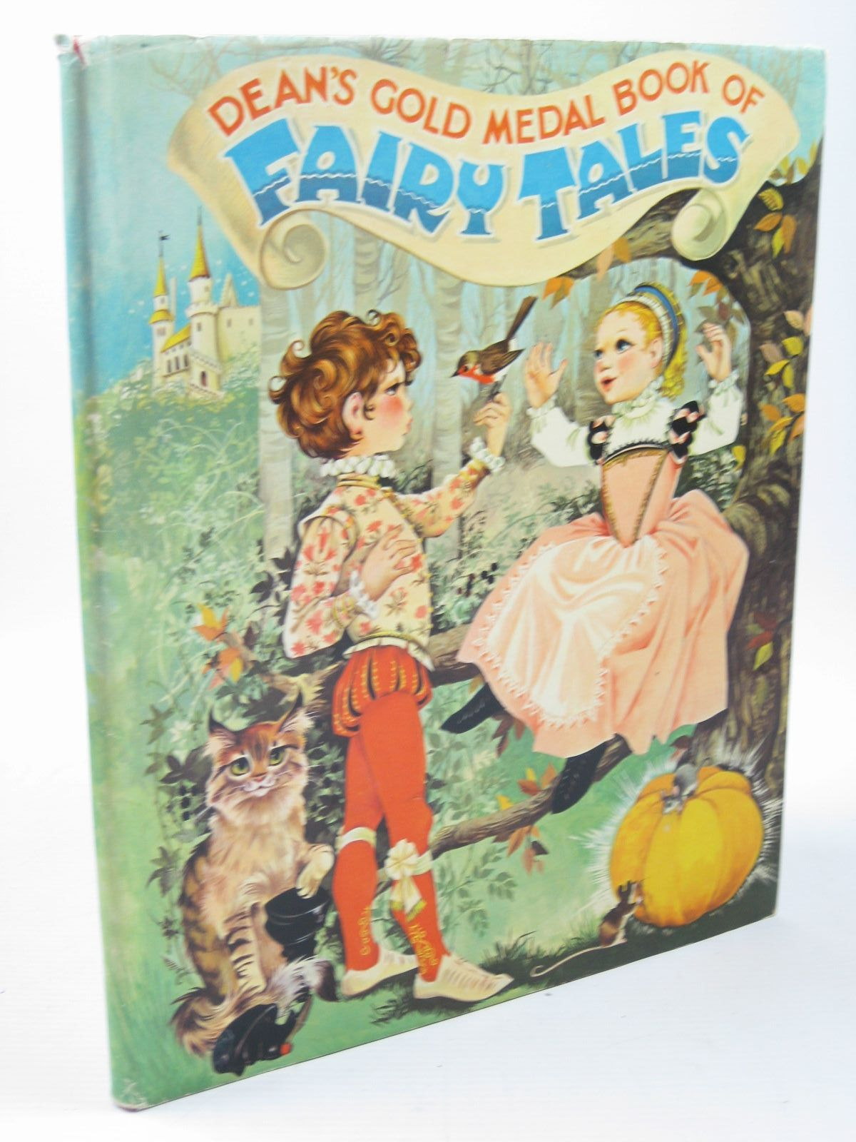 Photo of DEAN'S GOLD MEDAL BOOK OF FAIRY TALES written by Johnstone, Janet Grahame<br />Johnstone, Anne Grahame illustrated by Johnstone, Janet Grahame<br />Johnstone, Anne Grahame published by Dean & Son Ltd. (STOCK CODE: 1312185)  for sale by Stella & Rose's Books