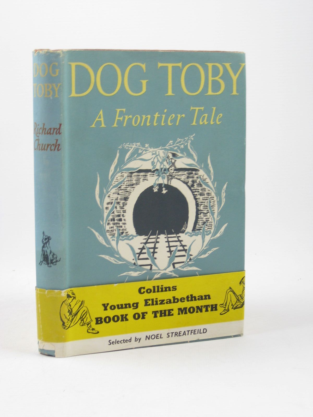 Photo of DOG TOBY written by Church, Richard illustrated by Irving, Laurence published by Hutchinson (STOCK CODE: 1312205)  for sale by Stella & Rose's Books