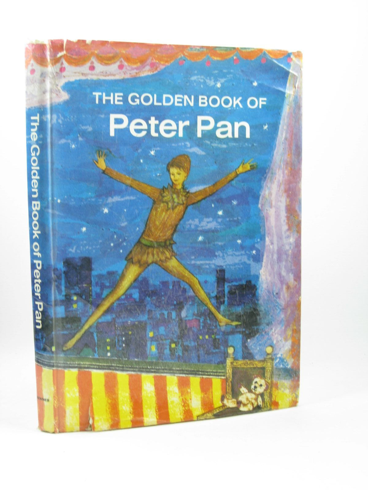 Photo of THE GOLDEN BOOK OF PETER PAN written by Owen, Robert published by George Newnes Ltd. (STOCK CODE: 1312237)  for sale by Stella & Rose's Books