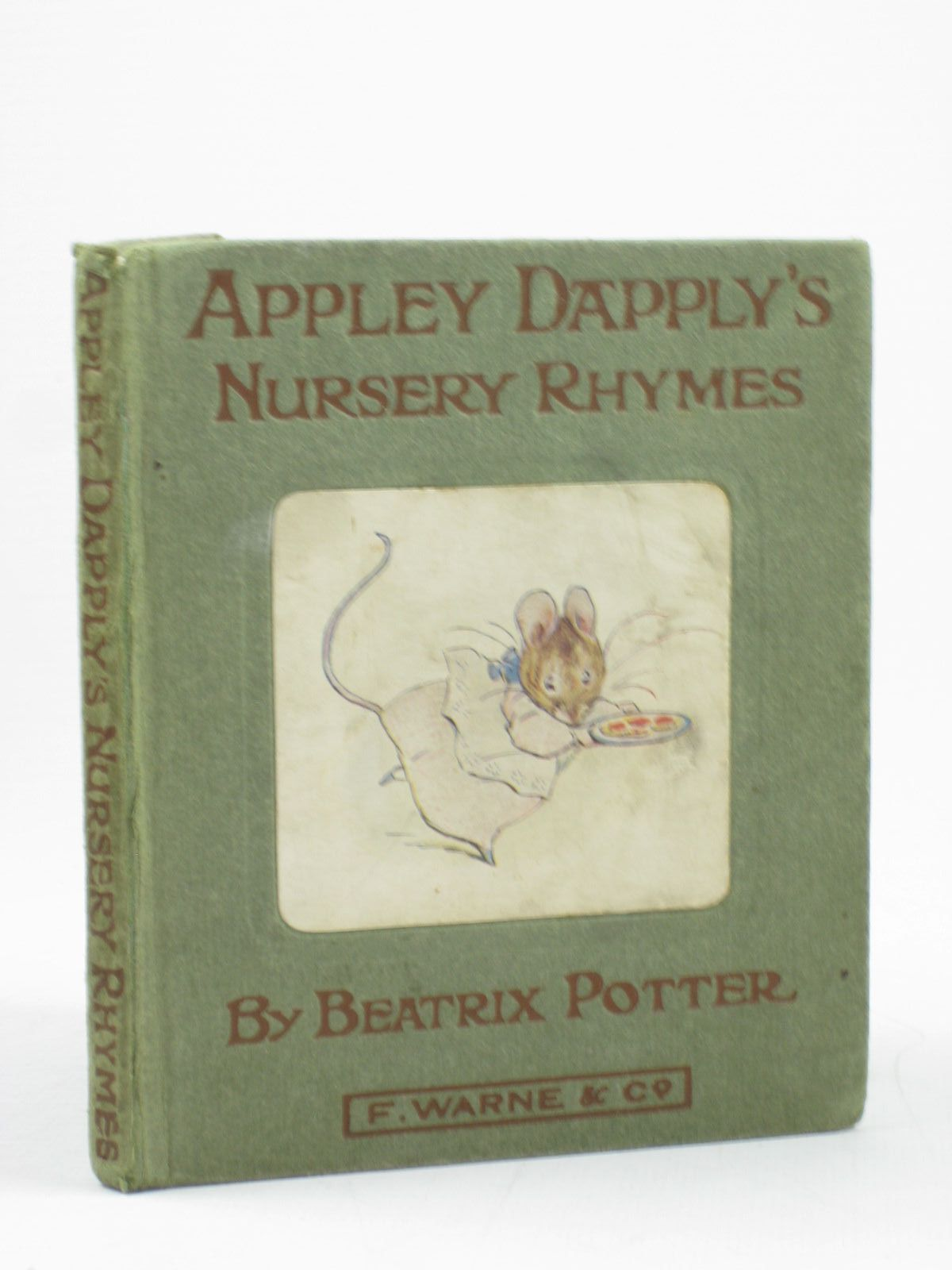 Photo of APPLEY DAPPLY'S NURSERY RHYMES written by Potter, Beatrix illustrated by Potter, Beatrix published by Frederick Warne & Co. (STOCK CODE: 1312250)  for sale by Stella & Rose's Books