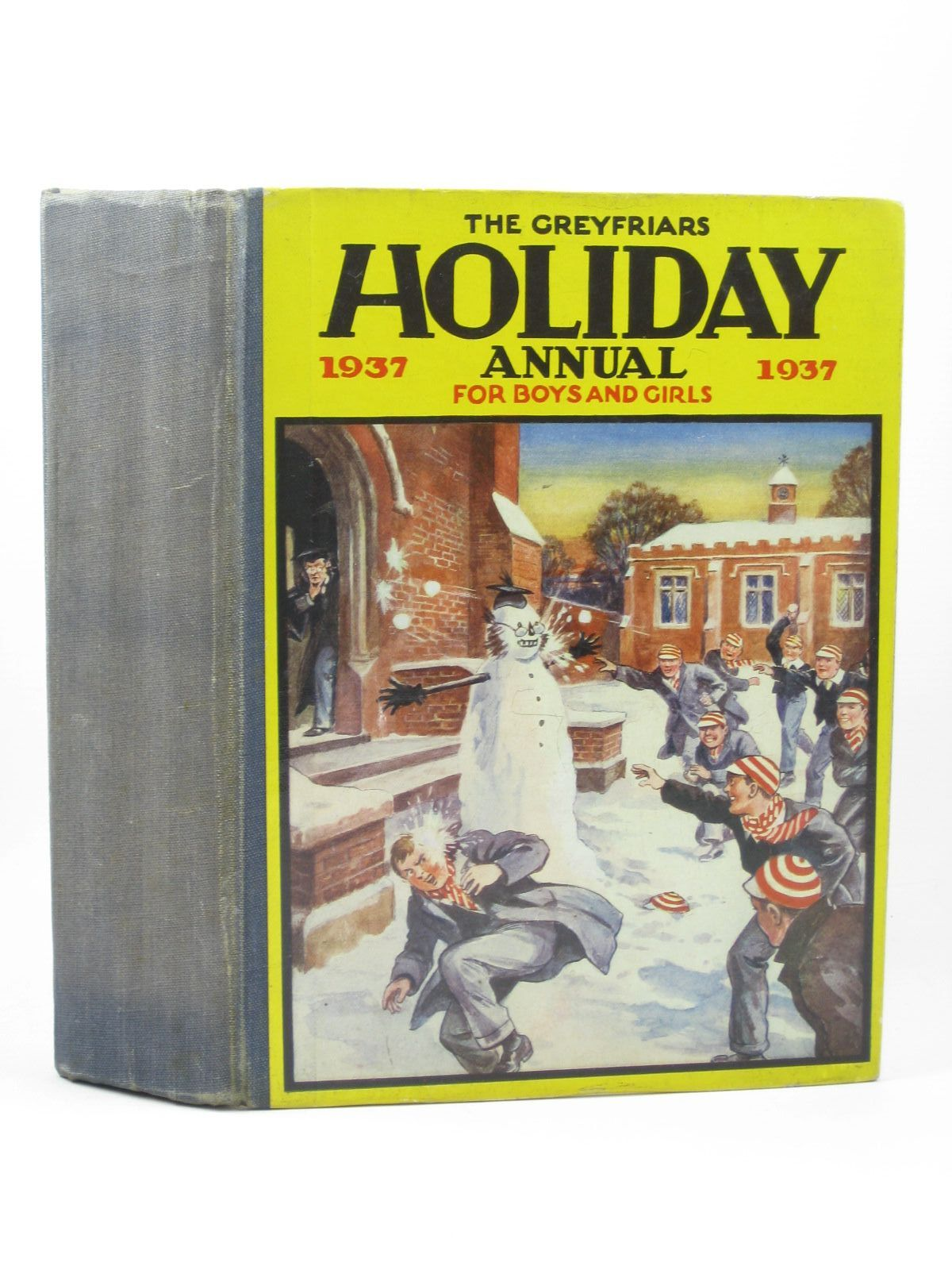 Photo of THE GREYFRIARS HOLIDAY ANNUAL 1937 written by Richards, Frank illustrated by Johns, W.E.<br />et al.,  published by The Amalgamated Press (STOCK CODE: 1312259)  for sale by Stella & Rose's Books
