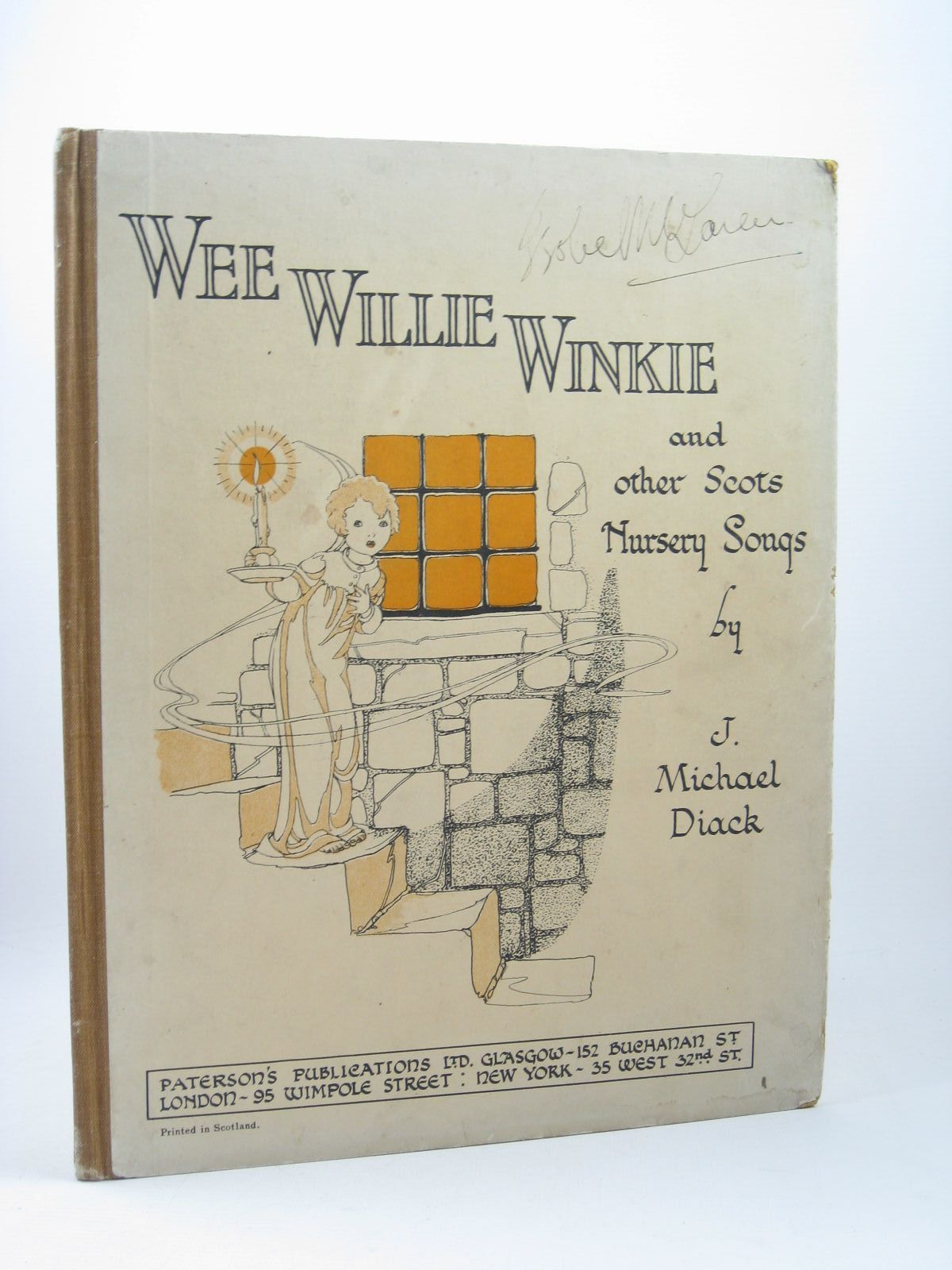 Photo of WEE WILLIE WINKIE AND OTHER SCOTTISH NURSERY SONGS written by Diack, J. Michael published by Paterson's Publications (STOCK CODE: 1312281)  for sale by Stella & Rose's Books
