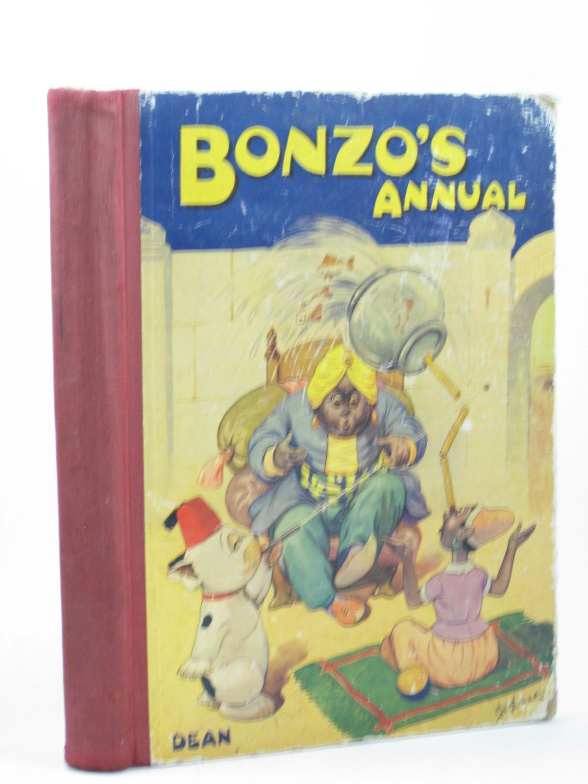 Photo of BONZO'S ANNUAL 1949 written by Studdy, G.E. illustrated by Studdy, G.E. published by Dean & Son Ltd. (STOCK CODE: 1312287)  for sale by Stella & Rose's Books