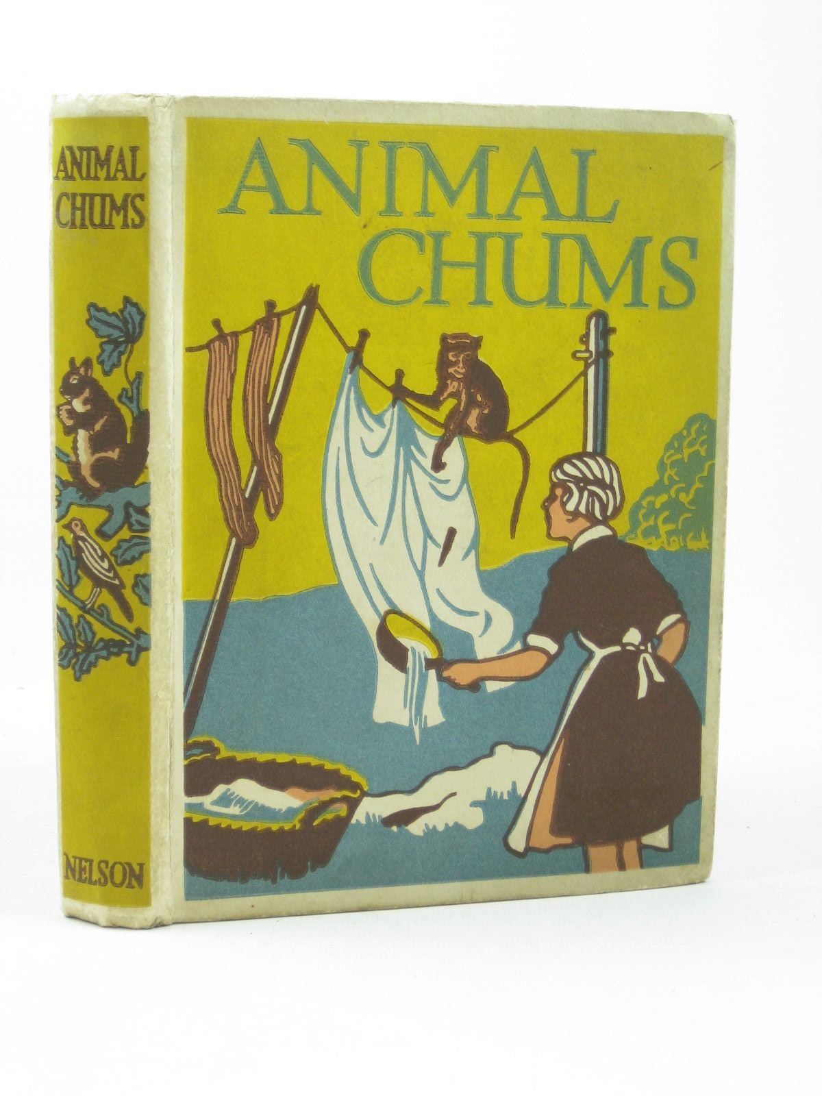 Photo of ANIMAL CHUMS written by McIntosh, Jean published by Thomas Nelson and Sons Ltd. (STOCK CODE: 1312337)  for sale by Stella & Rose's Books