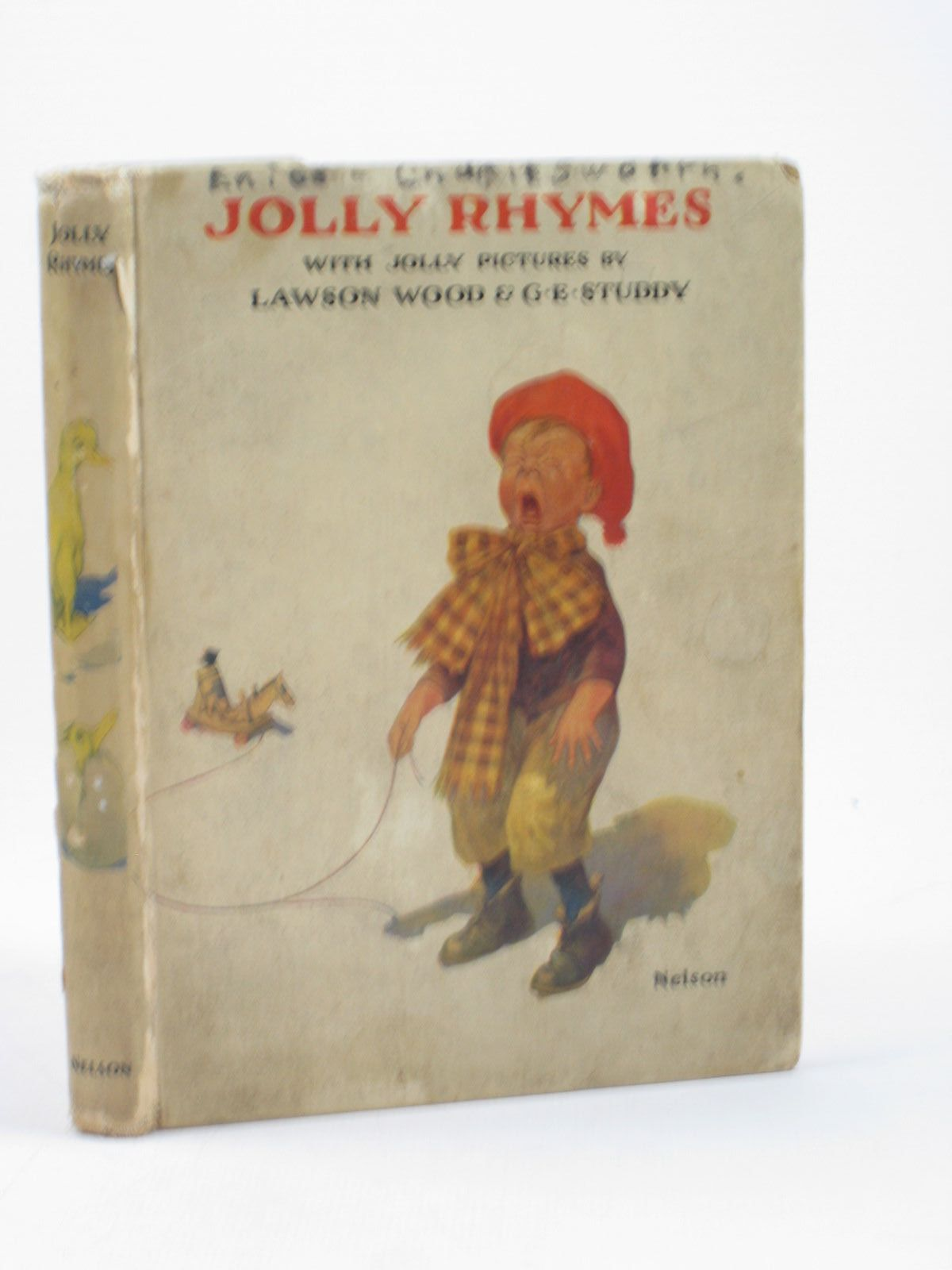 Photo of JOLLY RHYMES illustrated by Wood, Lawson<br />Studdy, G.E. published by Thomas Nelson and Sons Ltd. (STOCK CODE: 1312408)  for sale by Stella & Rose's Books