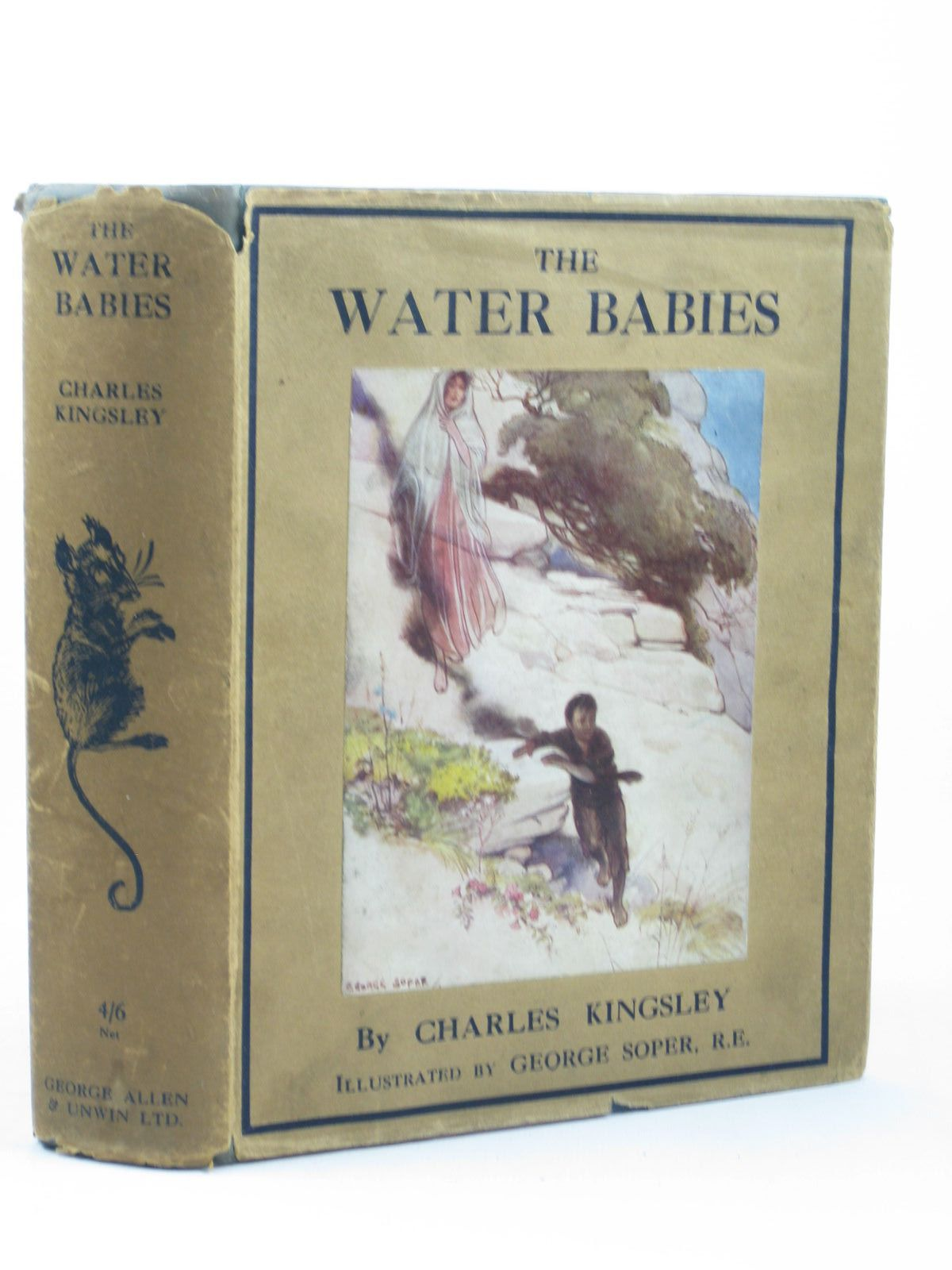 Photo of THE WATER BABIES written by Kingsley, Charles illustrated by Soper, George published by George Allen & Unwin Ltd. (STOCK CODE: 1312452)  for sale by Stella & Rose's Books