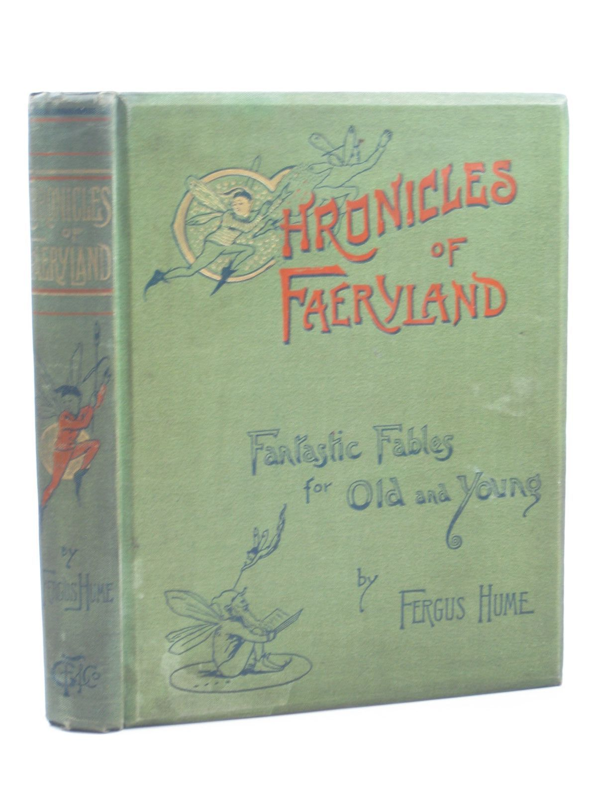 Photo of THE CHRONICLES OF FAERYLAND written by Hume, Fergus illustrated by Dunlop, M. published by Griffith Farran & Co. (STOCK CODE: 1312486)  for sale by Stella & Rose's Books