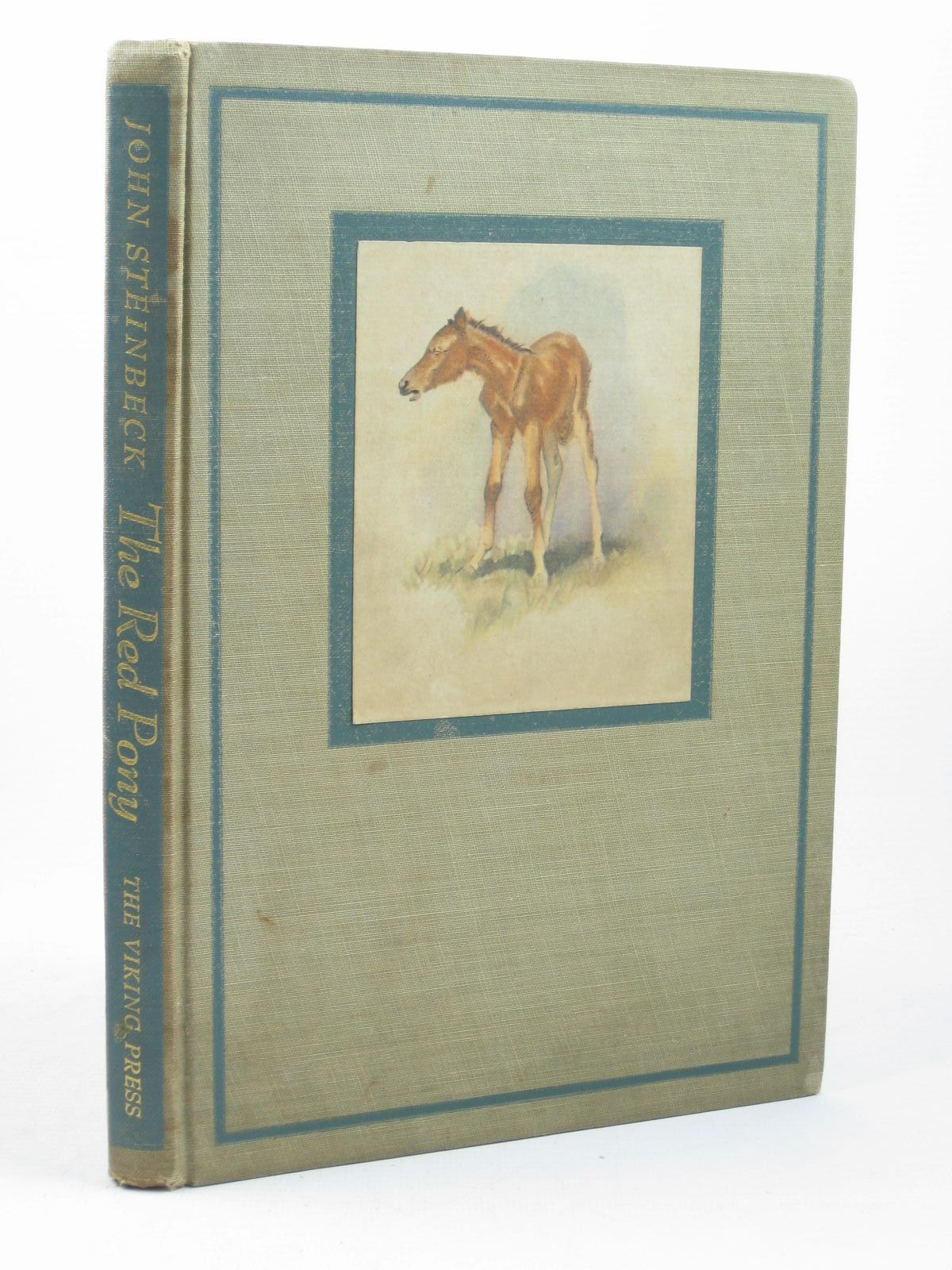 Photo of THE RED PONY written by Steinbeck, John illustrated by Dennis, Wesley published by The Viking Press (STOCK CODE: 1312595)  for sale by Stella & Rose's Books