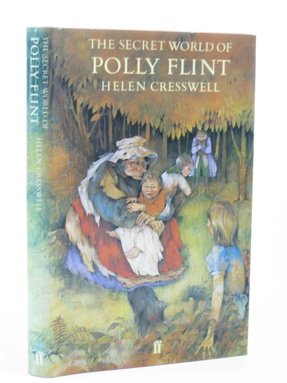Photo of THE SECRET WORLD OF POLLY FLINT written by Cresswell, Helen illustrated by Felts, Shirley published by Faber & Faber (STOCK CODE: 1312626)  for sale by Stella & Rose's Books