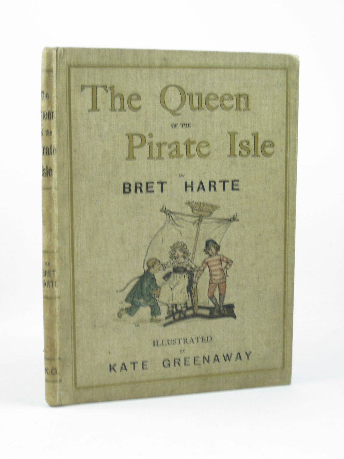 Photo of THE QUEEN OF THE PIRATE ISLE written by Harte, Bret illustrated by Greenaway, Kate published by Chatto & Windus (STOCK CODE: 1312640)  for sale by Stella & Rose's Books