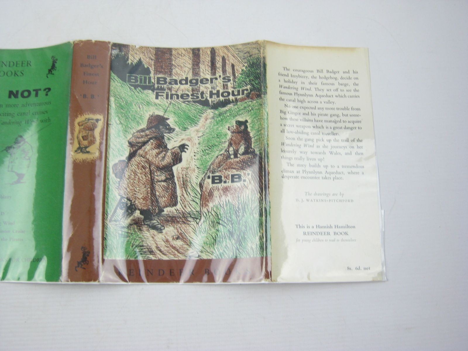 Photo of BILL BADGER'S FINEST HOUR written by BB,  illustrated by BB,  published by Hamish Hamilton (STOCK CODE: 1312675)  for sale by Stella & Rose's Books