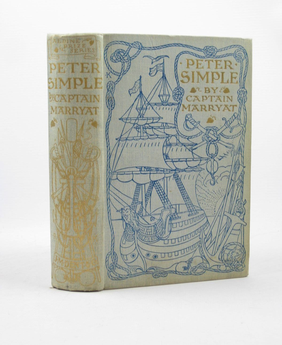 Photo of PETER SIMPLE written by Marryat, Captain illustrated by Symington, J.A. published by J.M. Dent & Co. (STOCK CODE: 1312680)  for sale by Stella & Rose's Books