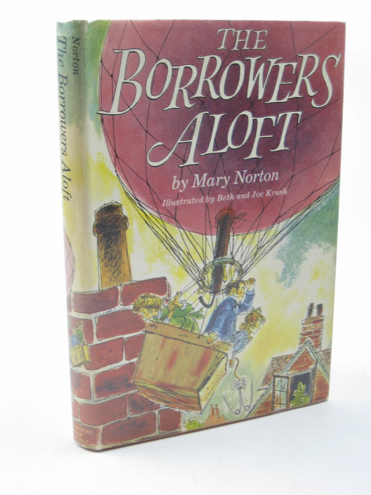 Photo of THE BORROWERS ALOFT written by Norton, Mary illustrated by Krush, Beth<br />Krush, Joe published by Harcourt, Brace & Company (STOCK CODE: 1312716)  for sale by Stella & Rose's Books