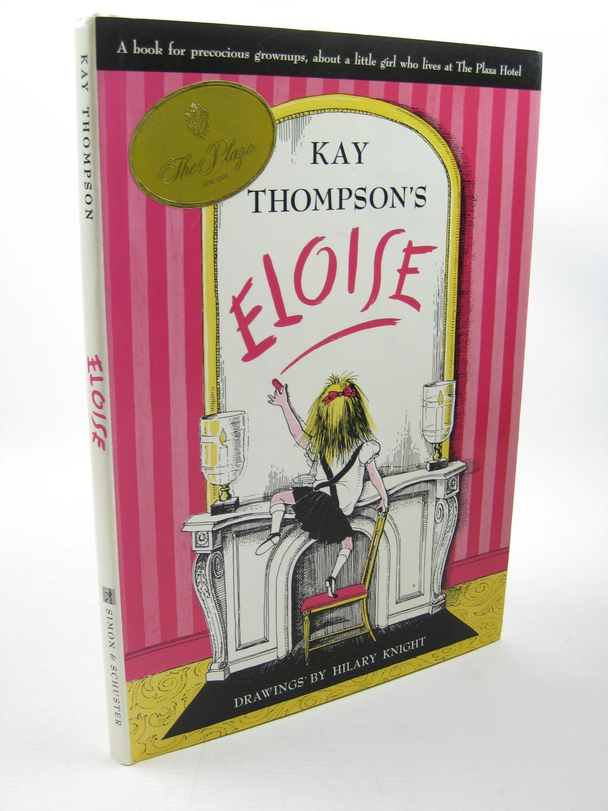 Photo of ELOISE written by Thompson, Kay illustrated by Knight, Hilary published by Simon & Schuster (STOCK CODE: 1312736)  for sale by Stella & Rose's Books