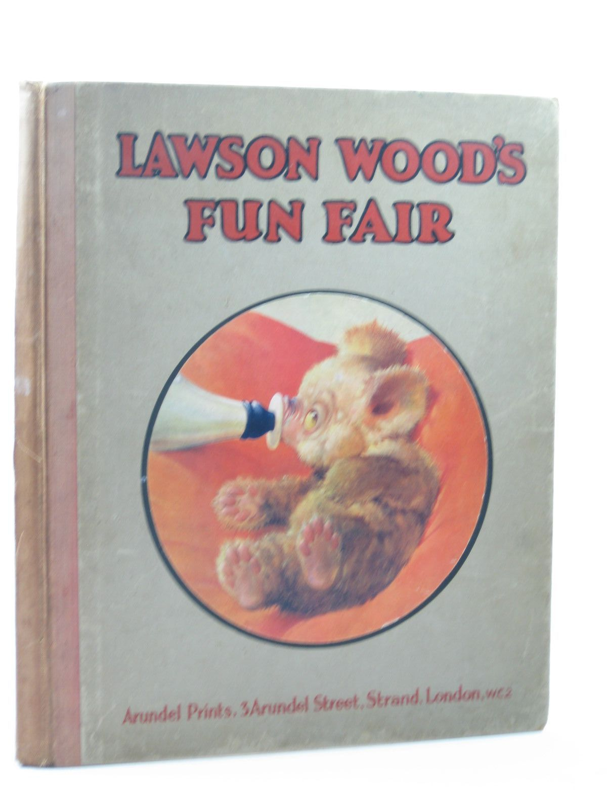 Photo of LAWSON WOOD'S FUN FAIR written by Wood, Lawson illustrated by Wood, Lawson published by Arundel Prints (STOCK CODE: 1312771)  for sale by Stella & Rose's Books