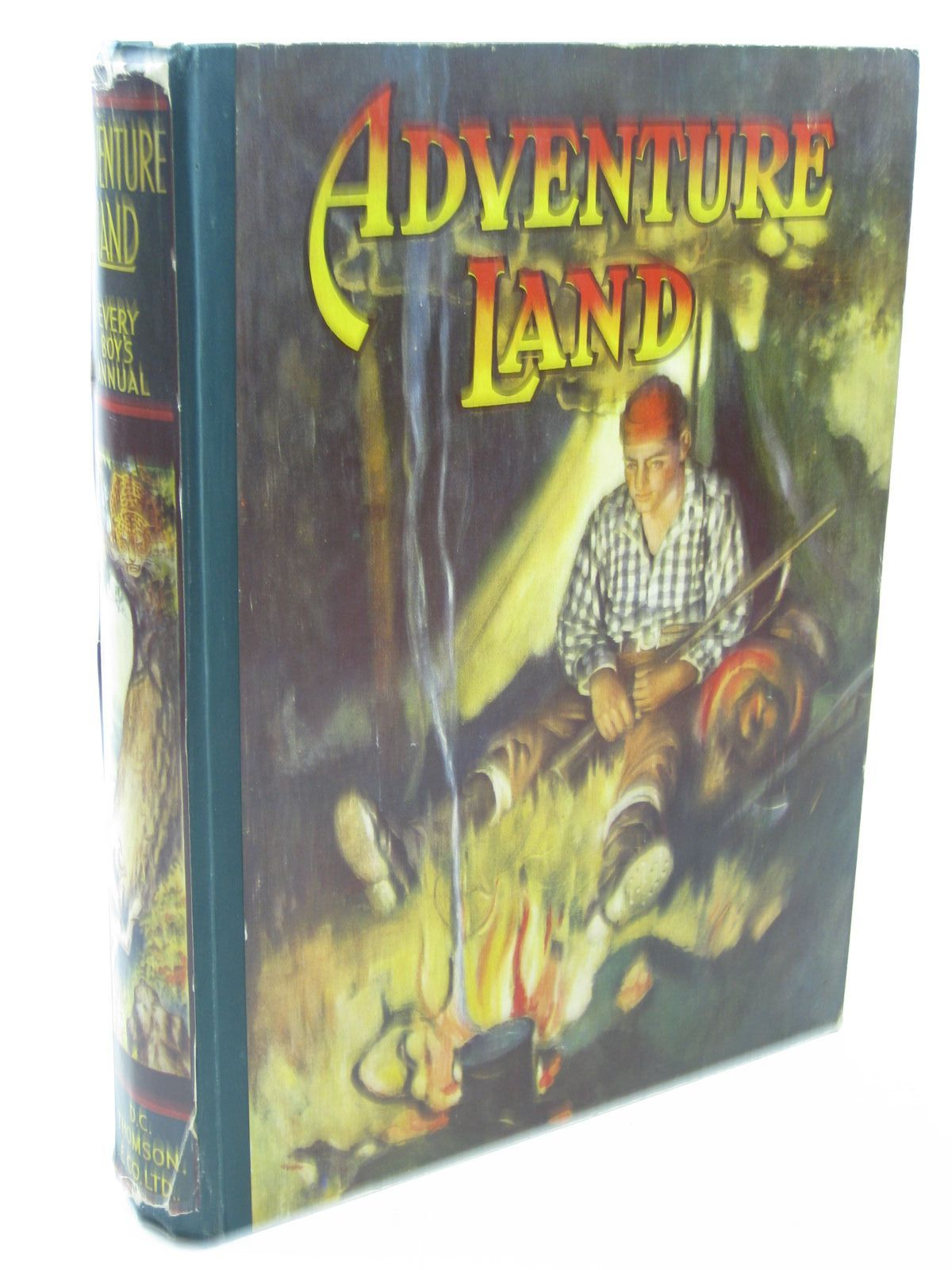Photo of ADVENTURE LAND 1927 written by Wood, Foster<br />White, Richard<br />Kaye, Crawford<br />Mitchell, Randolph<br />et al,  published by D.C. Thomson & Co Ltd. (STOCK CODE: 1312789)  for sale by Stella & Rose's Books