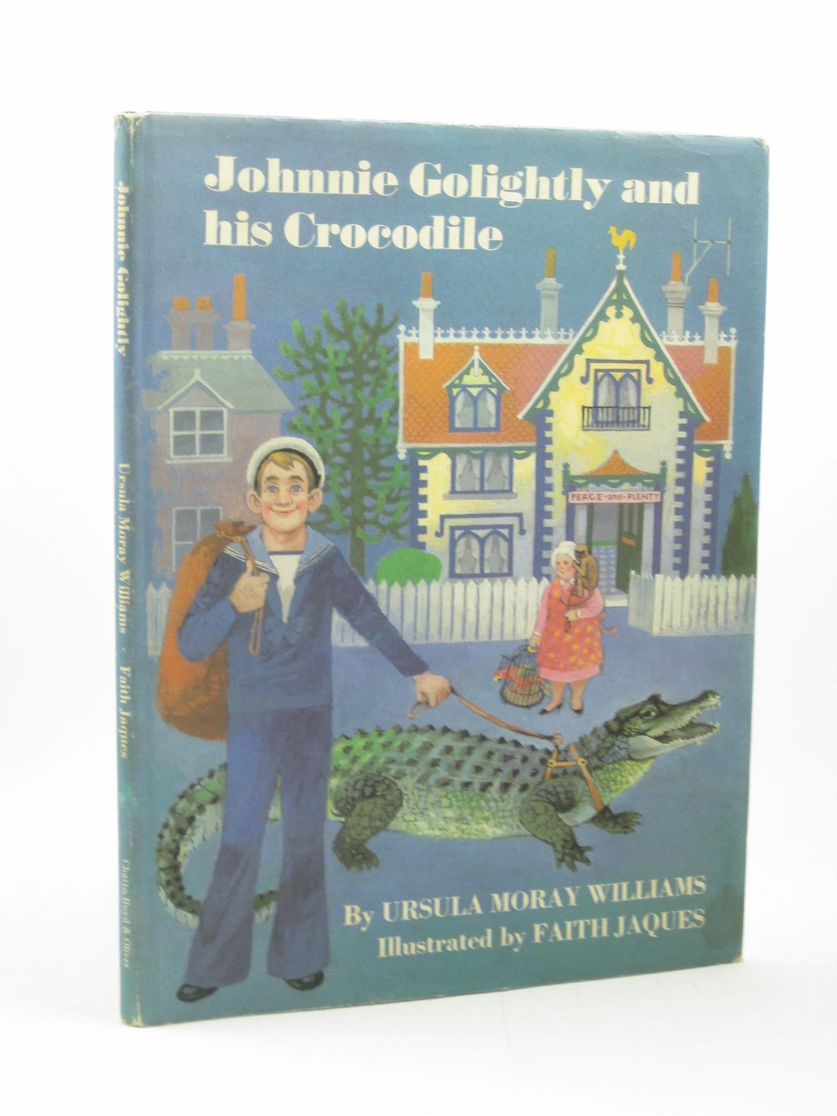 Photo of JOHNNIE GOLIGHTLY AND HIS CROCODILE written by Williams, Ursula Moray illustrated by Jaques, Faith published by Chatto, Boyd and Oliver (STOCK CODE: 1312895)  for sale by Stella & Rose's Books