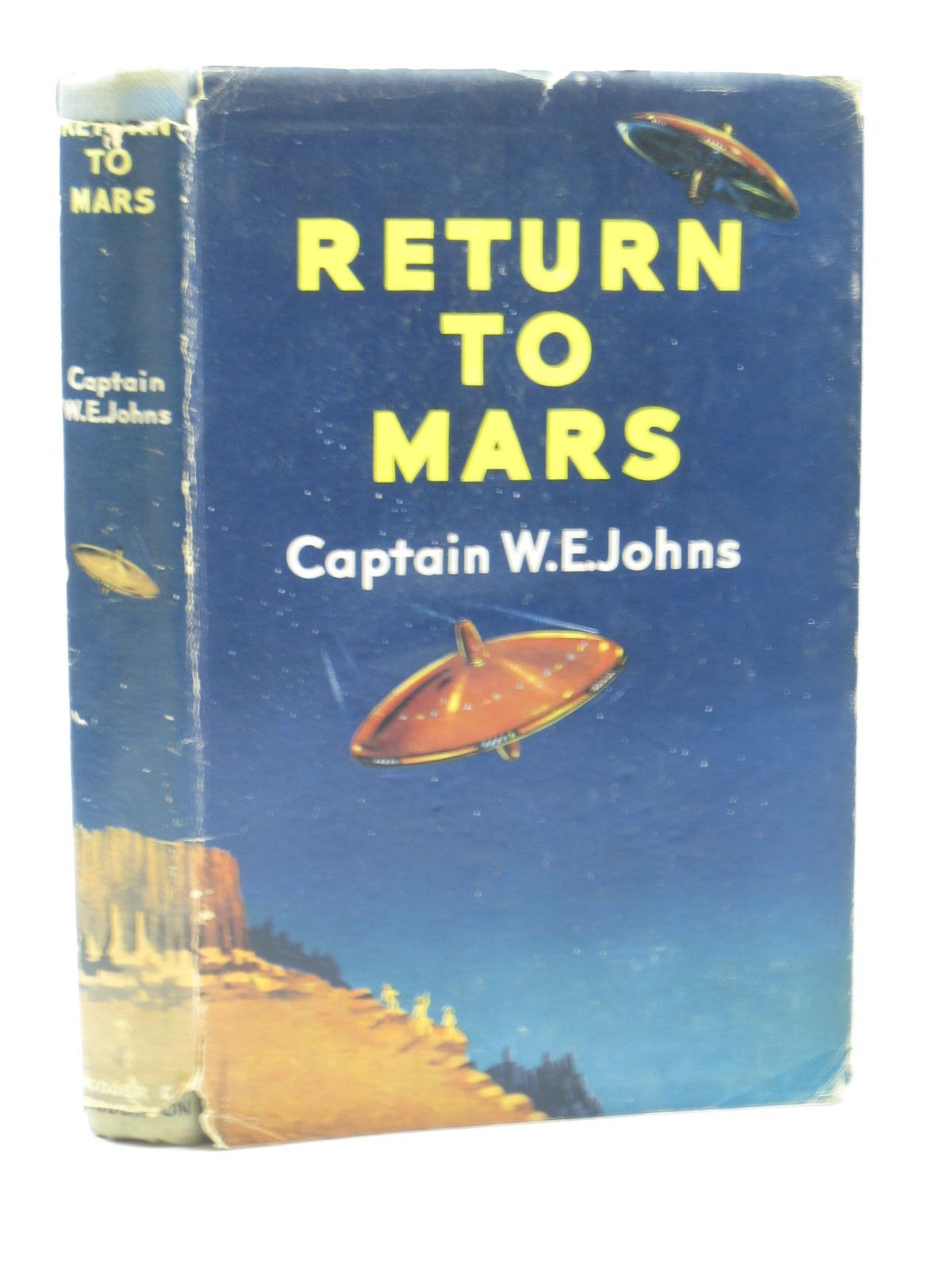 Photo of RETURN TO MARS written by Johns, W.E. illustrated by Stead,  published by Hodder & Stoughton (STOCK CODE: 1312958)  for sale by Stella & Rose's Books