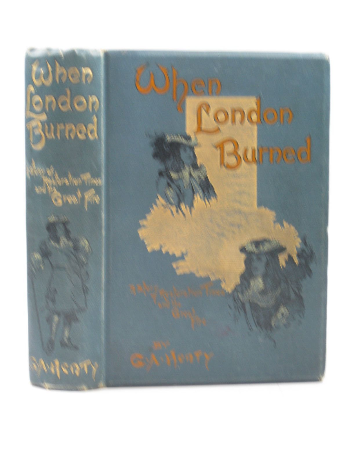 Photo of WHEN LONDON BURNED written by Henty, G.A. illustrated by Finnemore, J. published by Blackie & Son Ltd. (STOCK CODE: 1312972)  for sale by Stella & Rose's Books