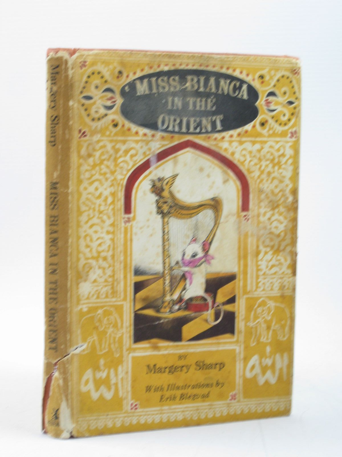 Photo of MISS BIANCA IN THE ORIENT written by Sharp, Margery illustrated by Blegvad, Erik published by Heinemann (STOCK CODE: 1313045)  for sale by Stella & Rose's Books