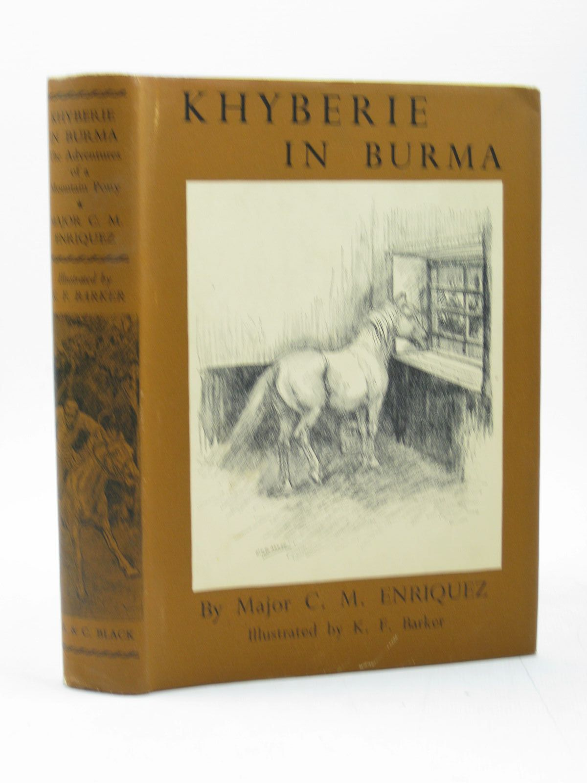Photo of KHYBERIE IN BURMA written by Enriquez, C.M. illustrated by Barker, K.F. published by A. & C. Black Ltd. (STOCK CODE: 1313080)  for sale by Stella & Rose's Books