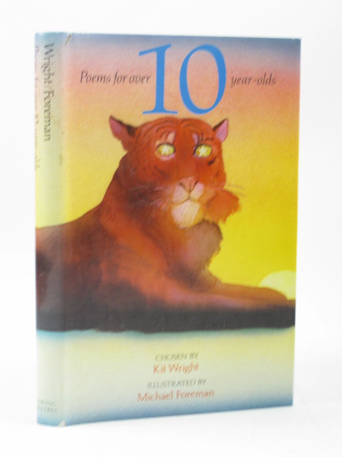 Photo of POEMS FOR OVER 10-YEAR-OLDS written by Wright, Kit illustrated by Foreman, Michael published by Viking Kestrel (STOCK CODE: 1313120)  for sale by Stella & Rose's Books