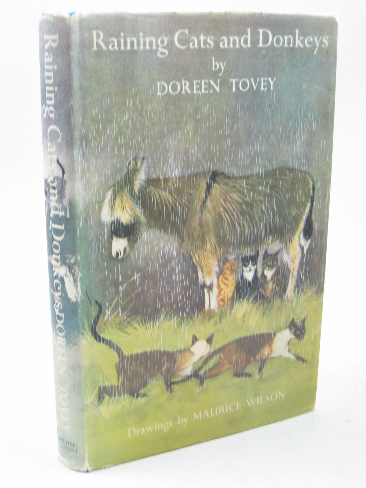 Photo of RAINING CATS AND DONKEYS written by Tovey, Doreen illustrated by Wilson, Maurice published by Michael Joseph (STOCK CODE: 1313142)  for sale by Stella & Rose's Books