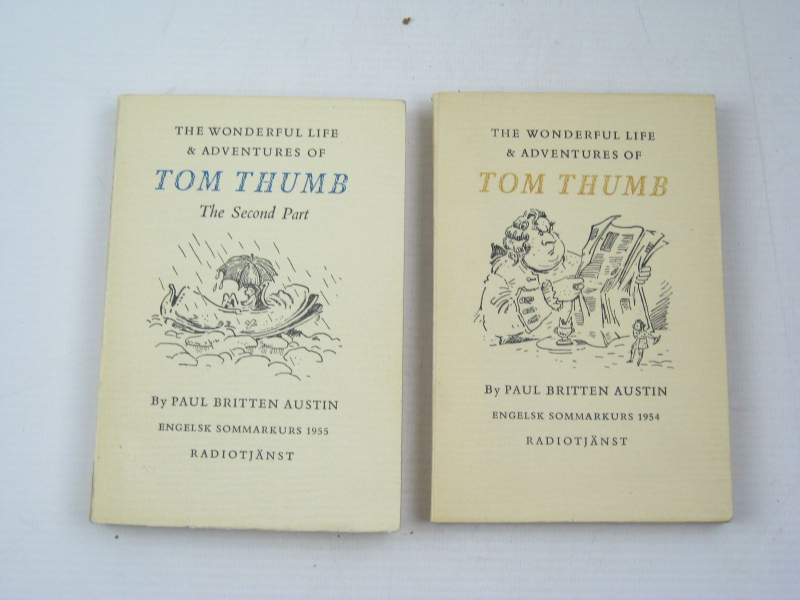 Photo of THE WONDERFUL LIFE AND ADVENTURES OF TOM THUMB written by Austin, Paul Britten illustrated by Peake, Mervyn published by Radiotjanst (STOCK CODE: 1313168)  for sale by Stella & Rose's Books