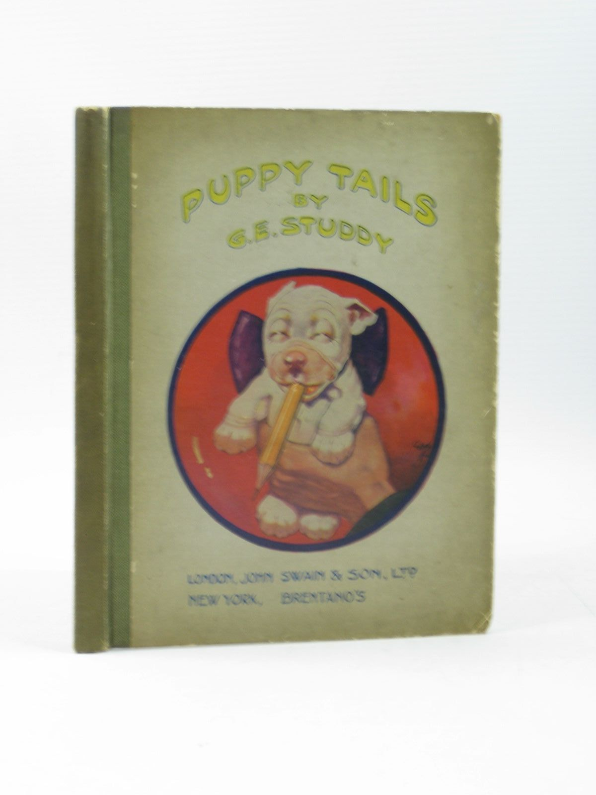 Photo of PUPPY TAILS written by Jellicoe, George illustrated by Studdy, G.E. published by John Swain & Son Limited, Brentano's (STOCK CODE: 1313203)  for sale by Stella & Rose's Books