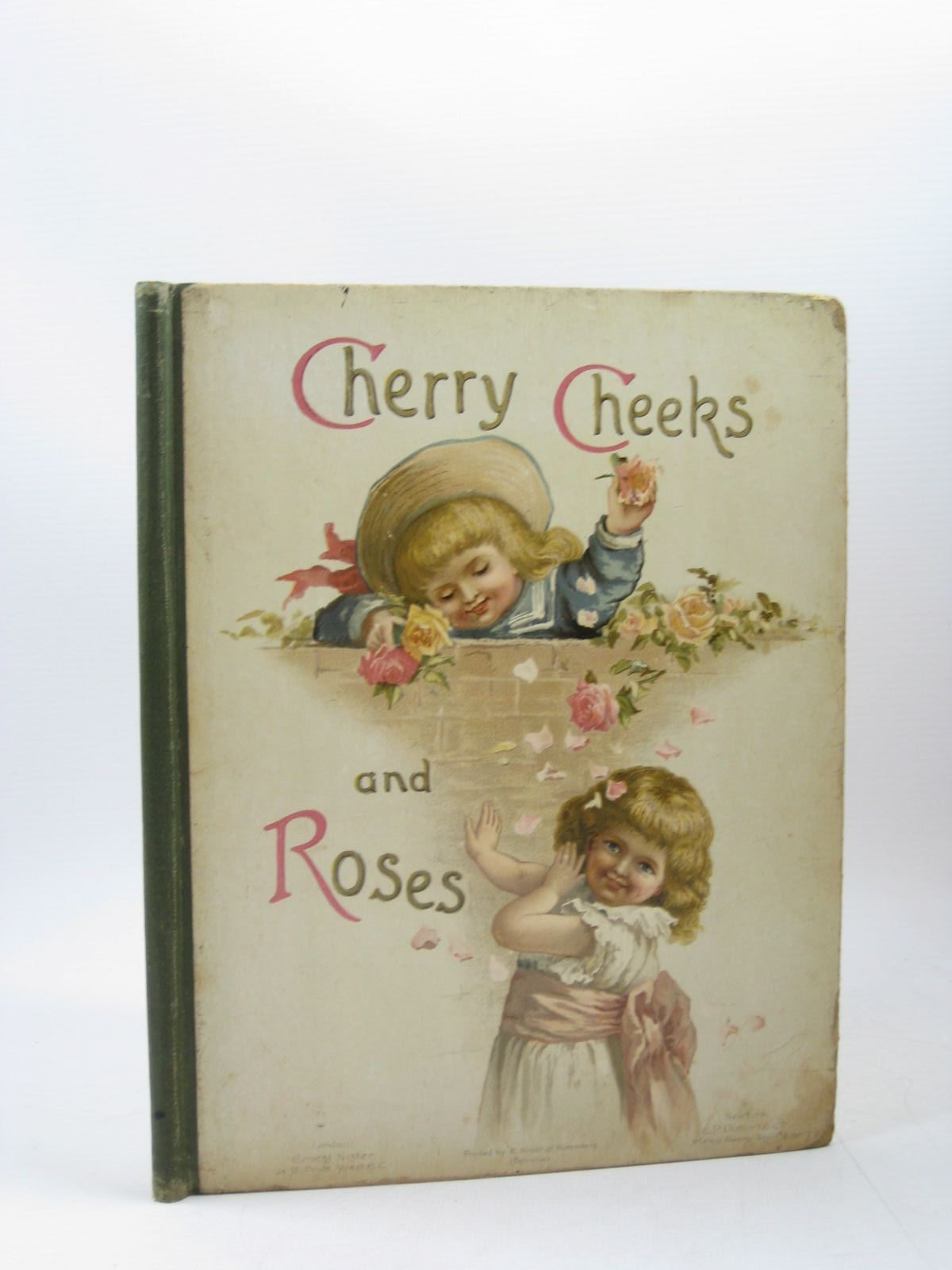 Photo of CHERRY CHEEKS AND ROSES published by Ernest Nister (STOCK CODE: 1313212)  for sale by Stella & Rose's Books