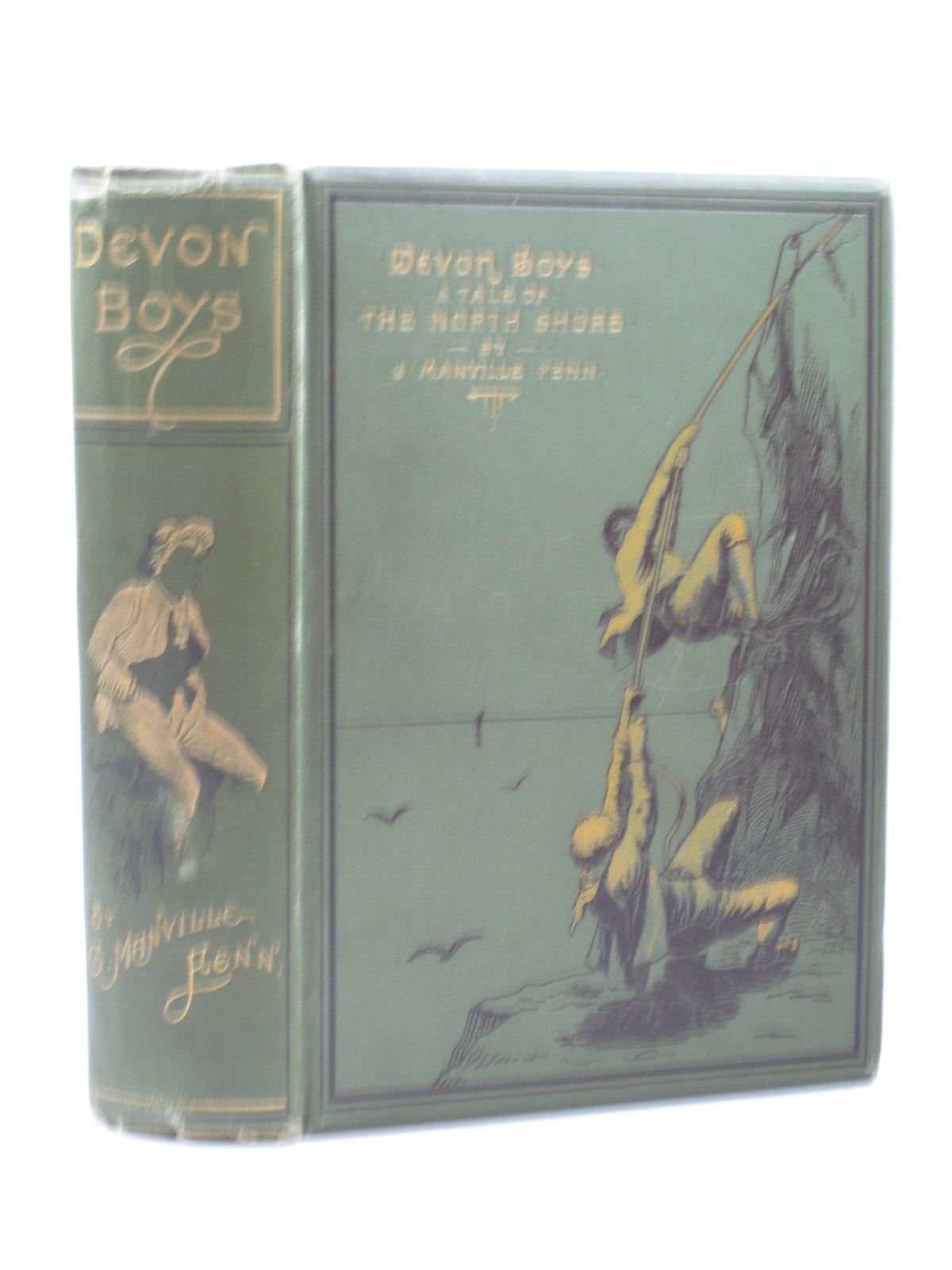 Photo of DEVON BOYS written by Fenn, George Manville illustrated by Browne, Gordon published by Blackie & Son (STOCK CODE: 1313233)  for sale by Stella & Rose's Books