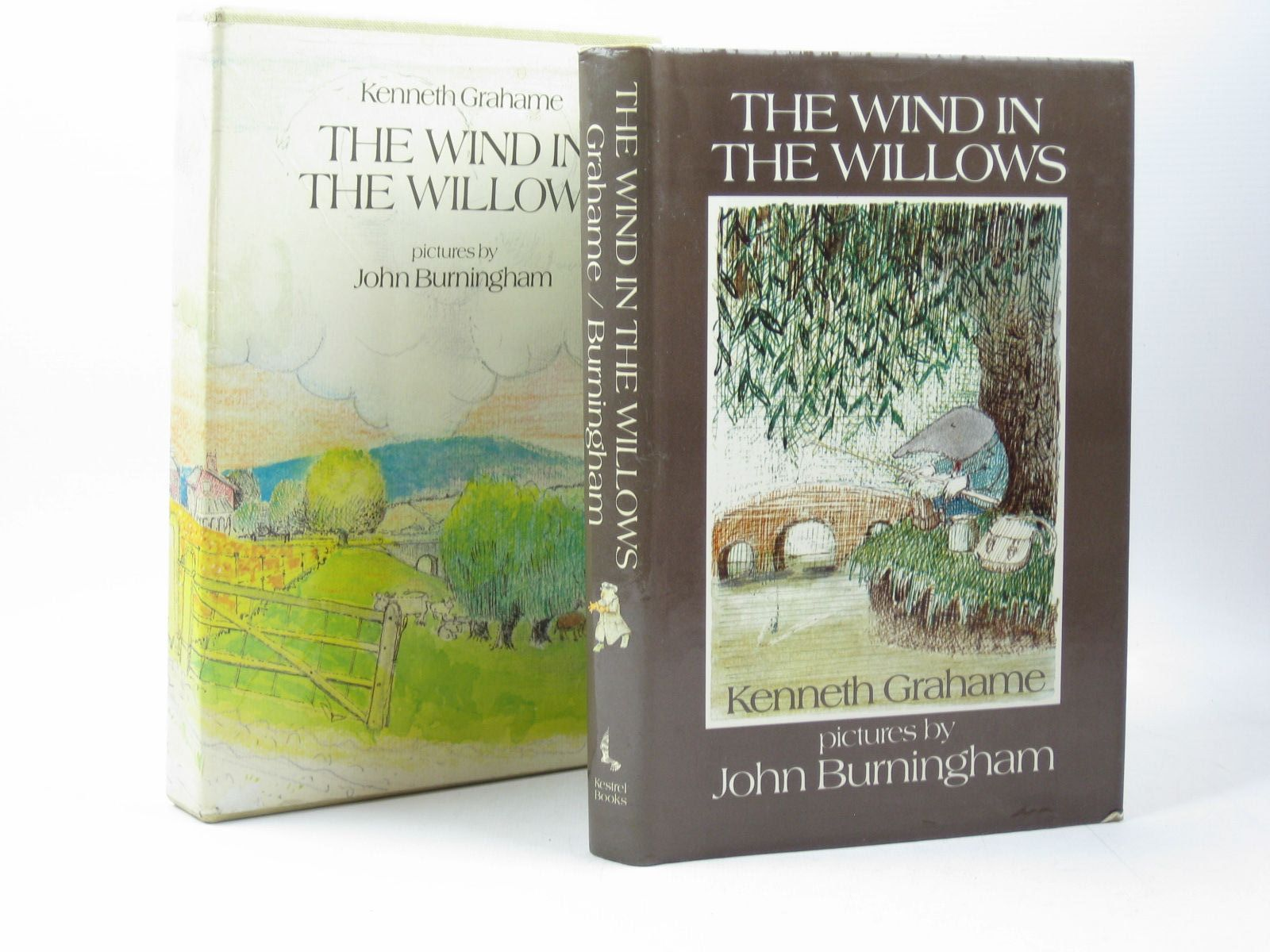 Photo of THE WIND IN THE WILLOWS written by Grahame, Kenneth illustrated by Burningham, John published by Kestrel Books (STOCK CODE: 1313346)  for sale by Stella & Rose's Books