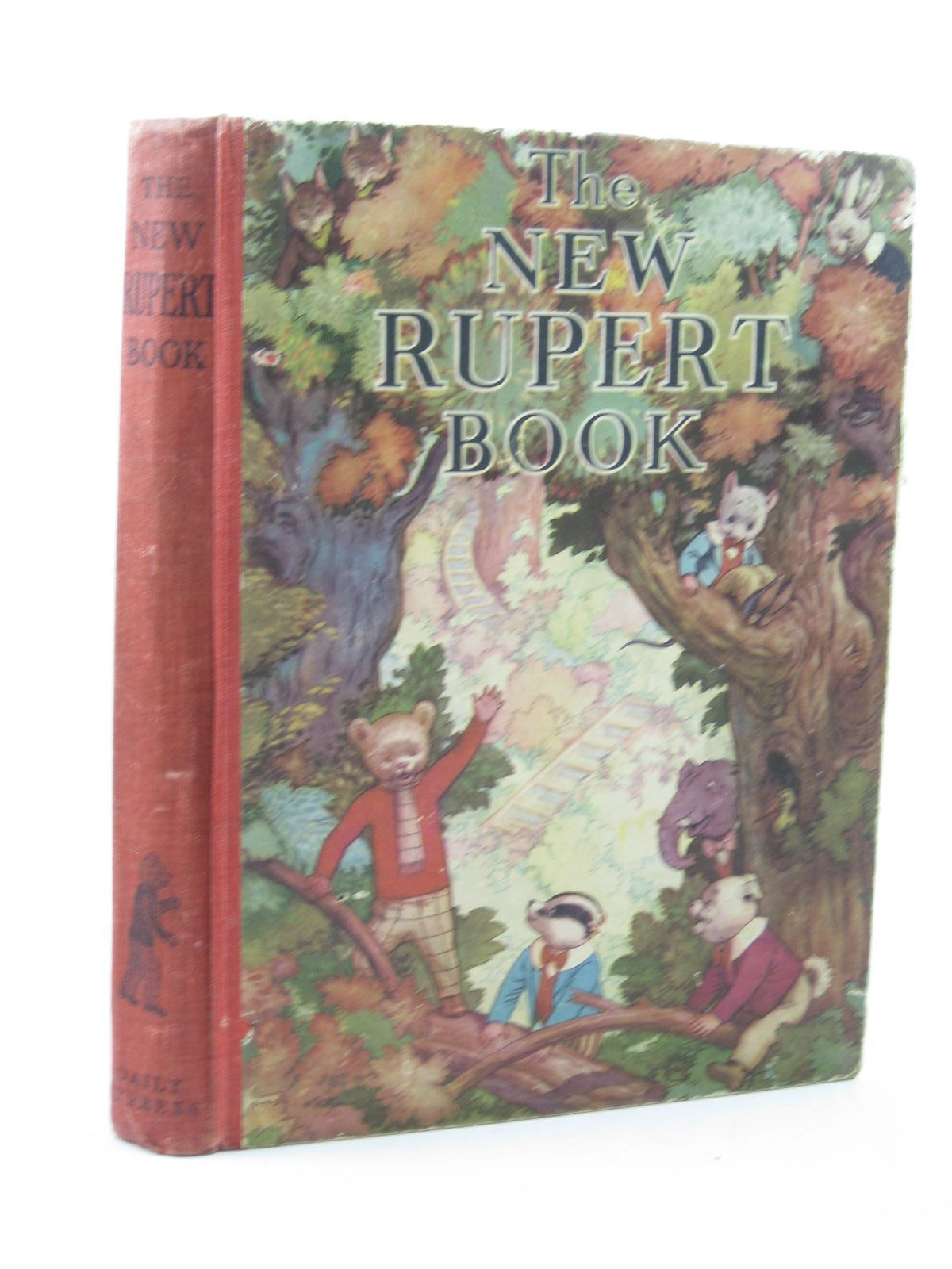 Photo of RUPERT ANNUAL 1938 - THE NEW RUPERT BOOK- Stock Number: 1313469