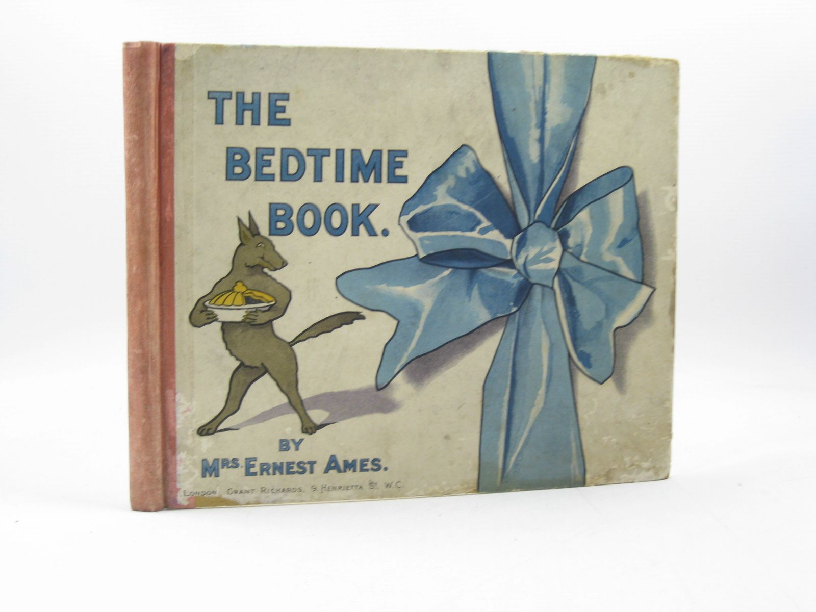 Photo of THE BEDTIME BOOK written by Ames, Mrs. Ernest illustrated by Ames, Mrs. Ernest published by Grant Richards (STOCK CODE: 1313582)  for sale by Stella & Rose's Books