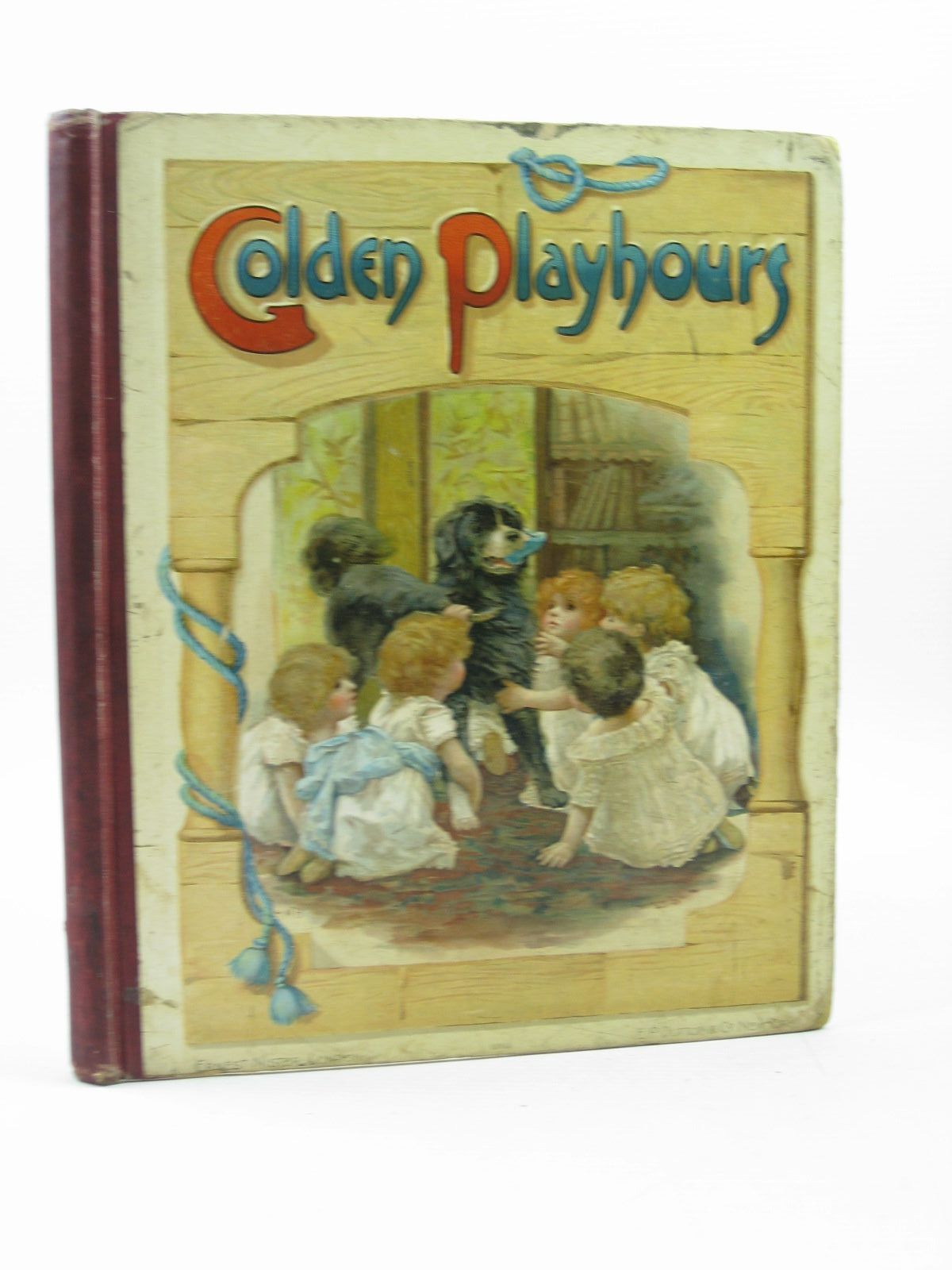 Photo of GOLDEN PLAYHOURS written by Winter, John Strange<br />Molesworth, Olive<br />Hoyer, M.A.<br />Nesbit, E.<br />et al, illustrated by Bennett, Harriett M. published by Ernest Nister, E.P. Dutton & Co. (STOCK CODE: 1313587)  for sale by Stella & Rose's Books