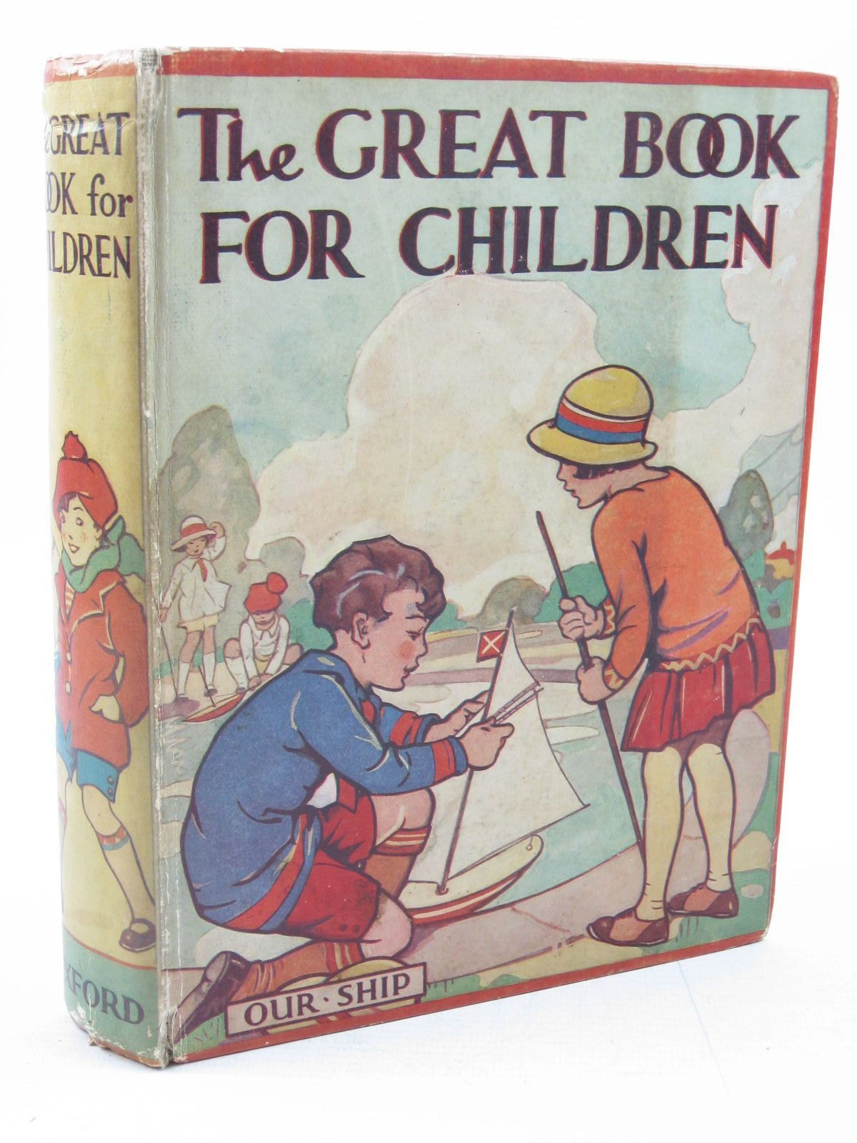 Photo of THE GREAT BOOK FOR CHILDREN written by Strang, Mrs. Herbert<br />Baker, Margaret<br />Herbertson, Agnes Grozier<br />et al, illustrated by Lodge, Grace<br />Millar, H.R.<br />Peart, M.A.<br />et al., published by Oxford University Press, Humphrey Milford (STOCK CODE: 1313611)  for sale by Stella & Rose's Books