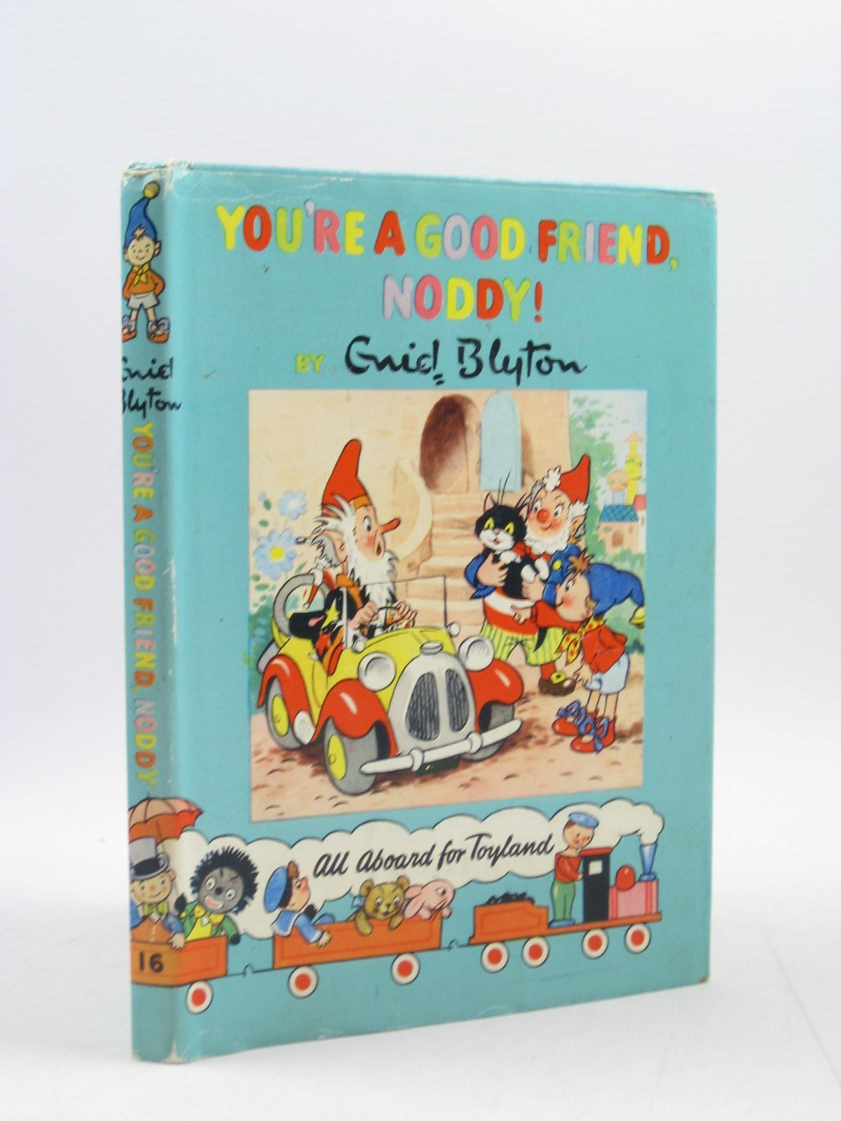 Photo of YOU'RE A GOOD FRIEND NODDY! written by Blyton, Enid illustrated by Lee, Robert<br />Tyndall, Robert published by Sampson Low, Marston & Co. Ltd., D.V. Publications Ltd. (STOCK CODE: 1313740)  for sale by Stella & Rose's Books