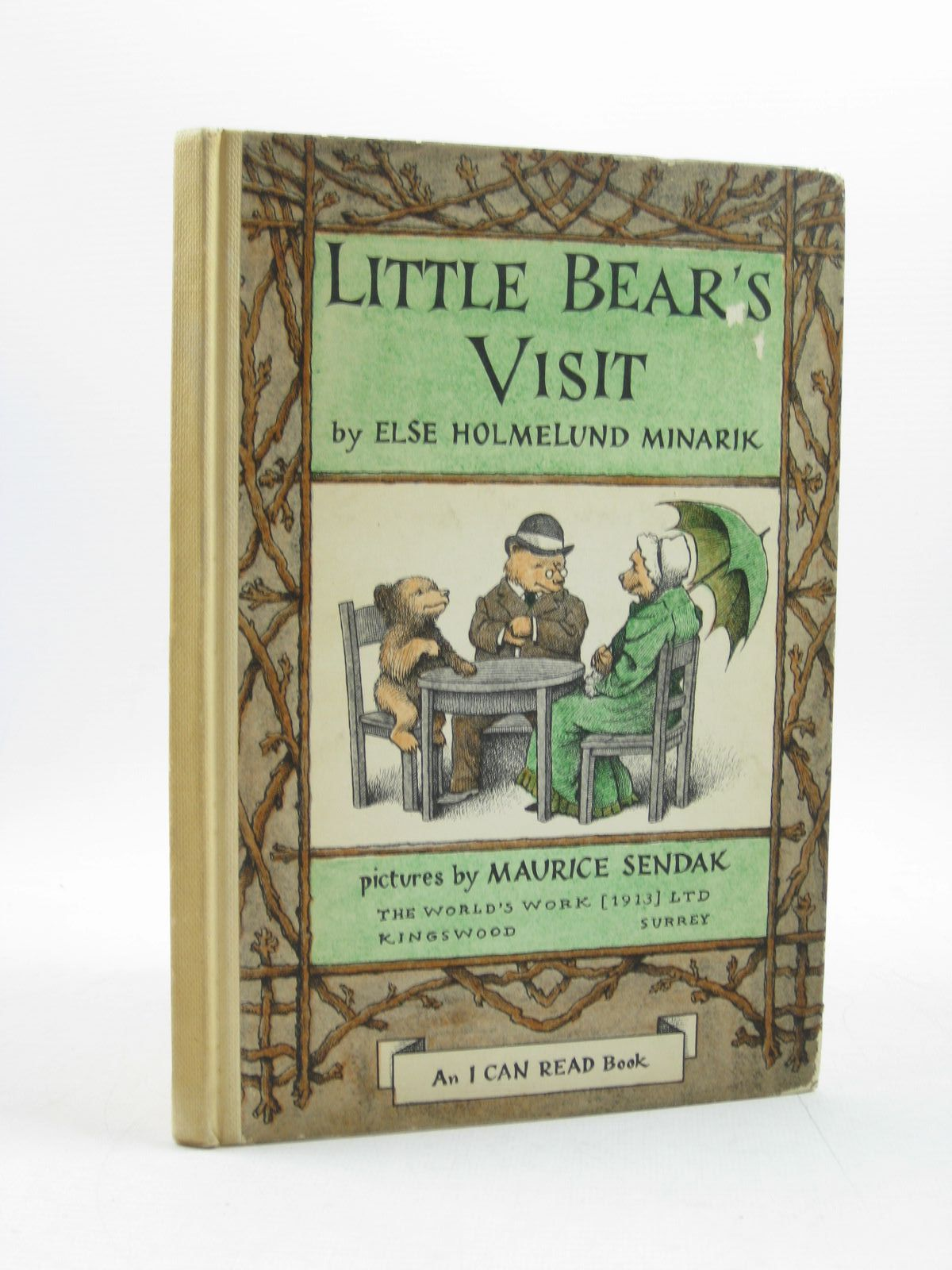 Photo of LITTLE BEAR'S VISIT written by Minarik, Else Holmelund illustrated by Sendak, Maurice published by World's Work Ltd. (STOCK CODE: 1313862)  for sale by Stella & Rose's Books